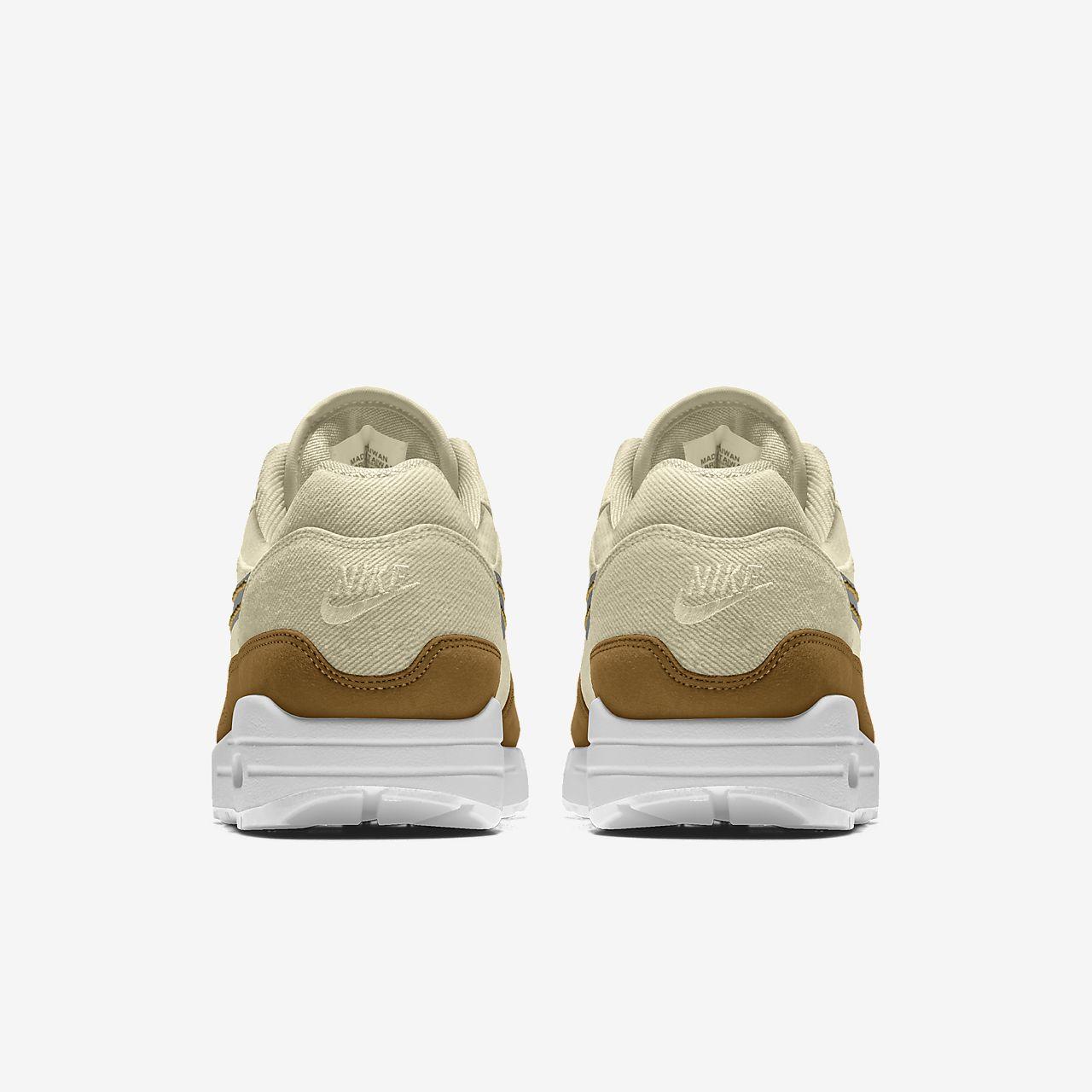 Nike Air Max 1 Premium By You personalisierbarer Damenschuh