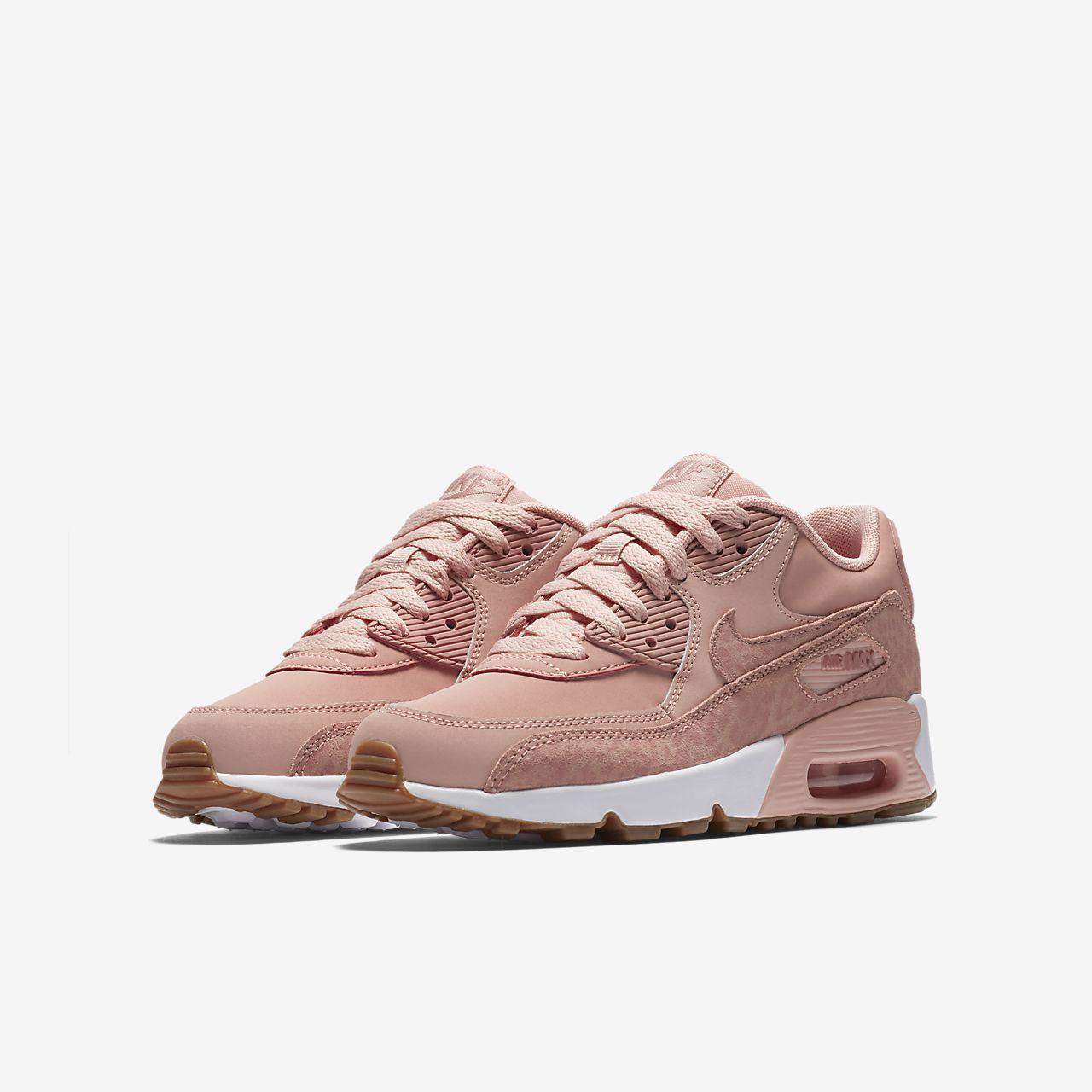 huge discount b03fc a2693 Nike Air Max 90 SE Leather Schuh für ältere Kinder . ...