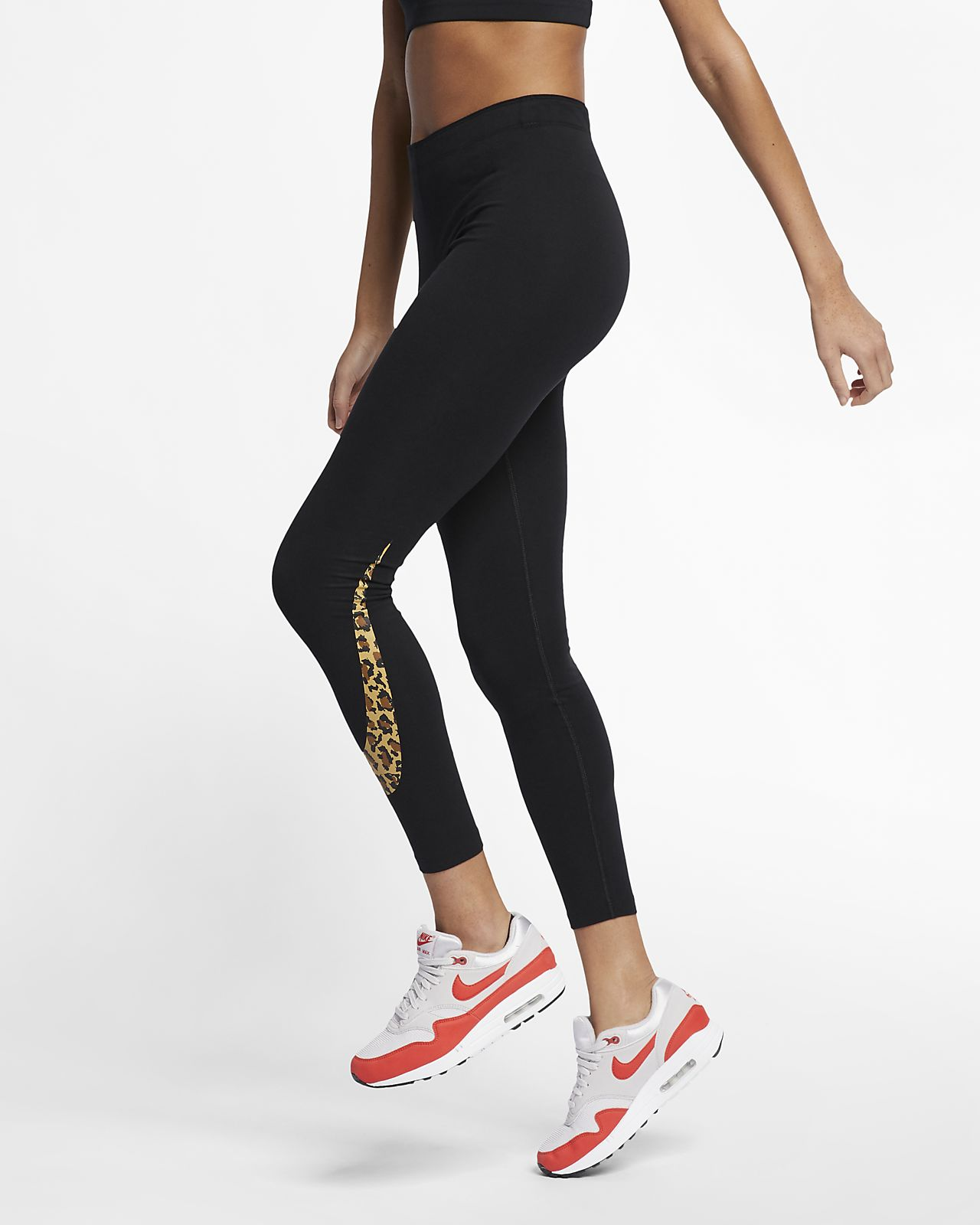 Tight à imprimé animal Nike Sportswear pour Femme