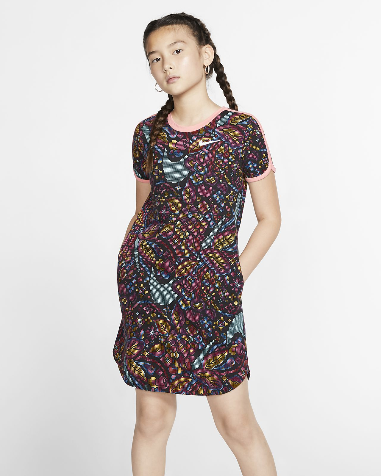 Nike Sportswear Girls' Swoosh Dress
