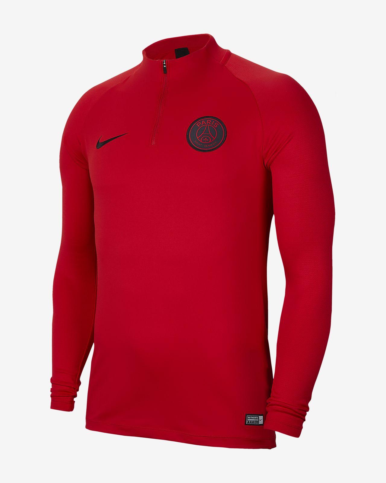 Nike Dri-FIT Paris Saint-Germain Strike Drill-Fußballoberteil für Herren