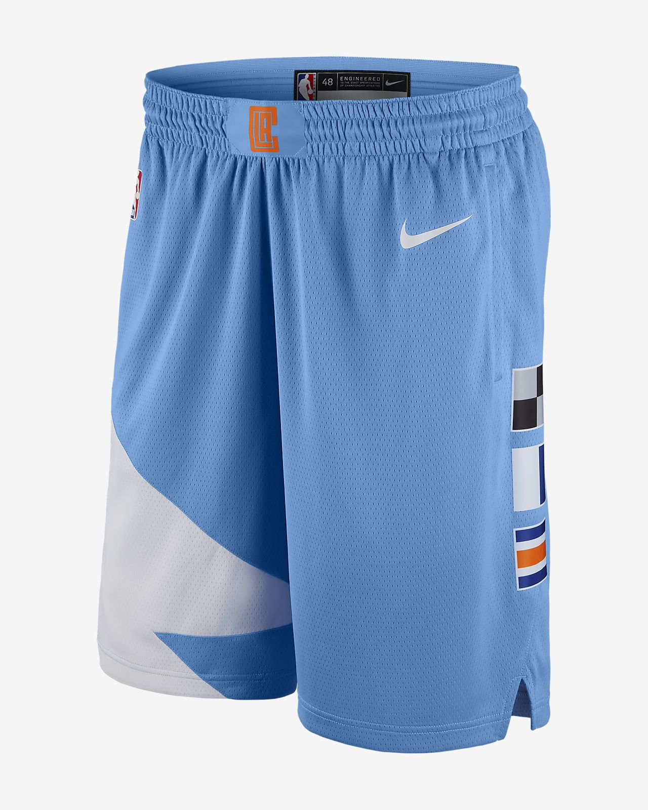 LA Clippers Nike City Edition Swingman Men s NBA Shorts. Nike.com SA 2ef6bb77ac95