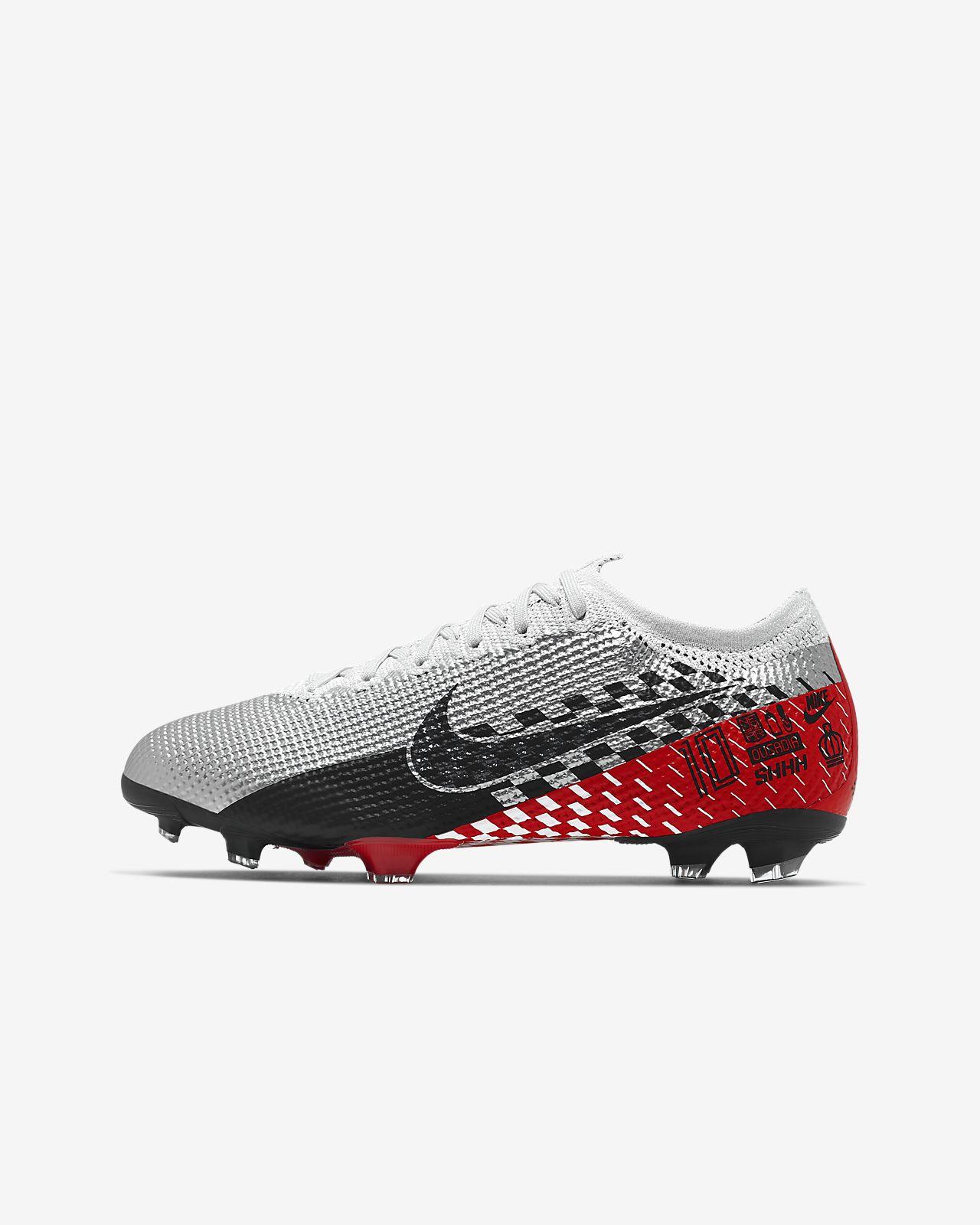 Nike Jr. Mercurial Vapor 13 Elite Neymar Jr. FG-fodboldstøvle til børn (græs)