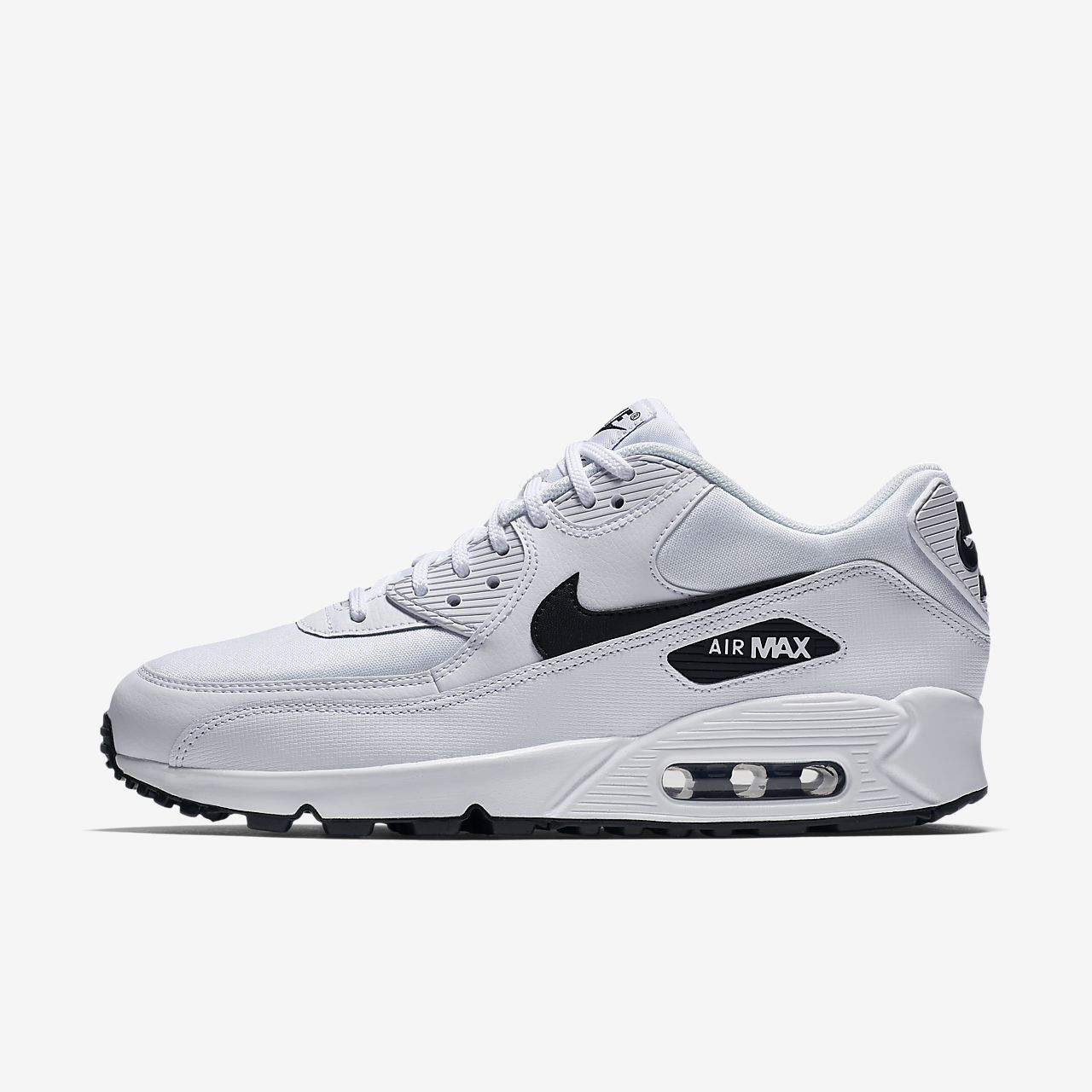 nike air max 90 grey and black