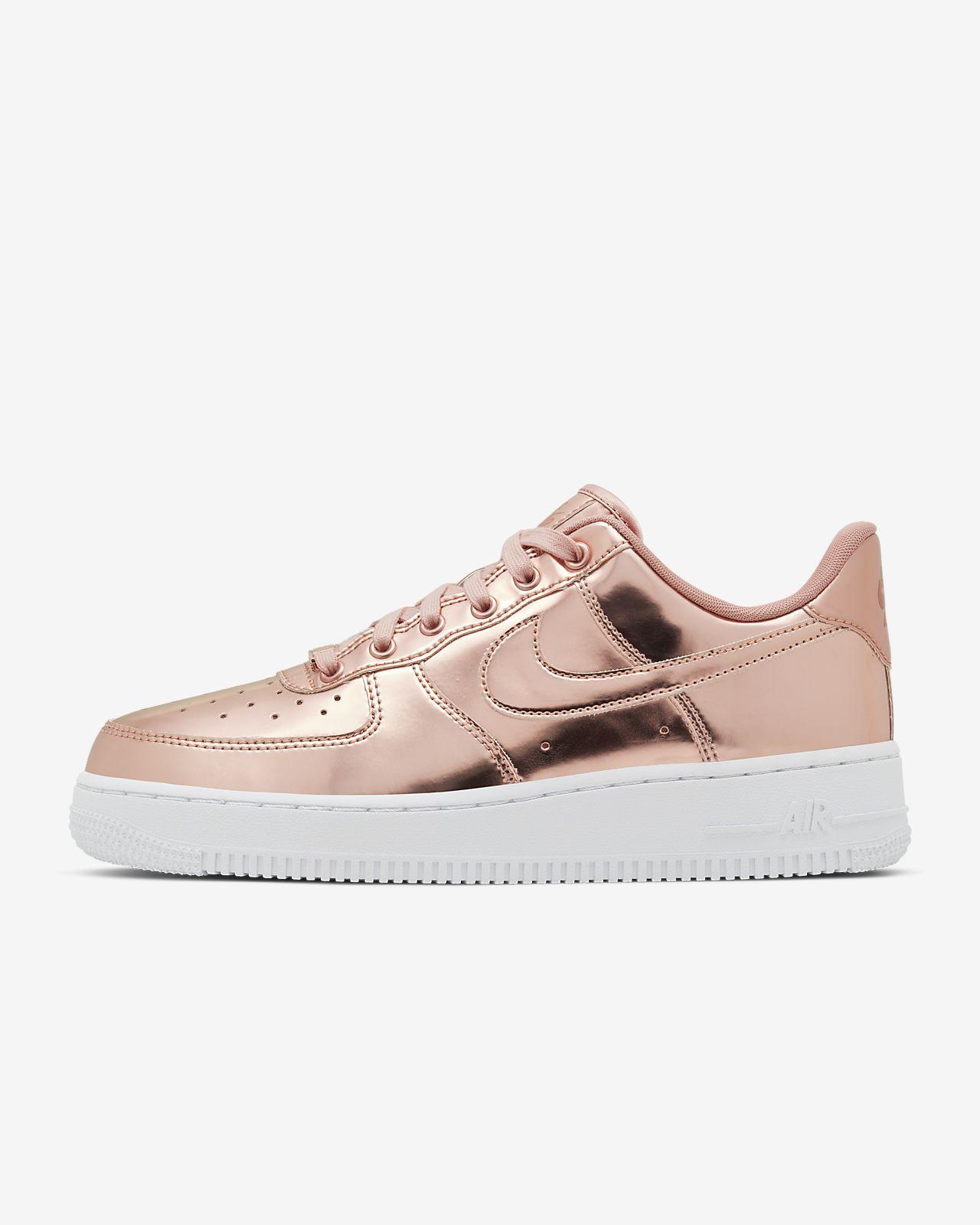 air force 1 donna baffo rosa