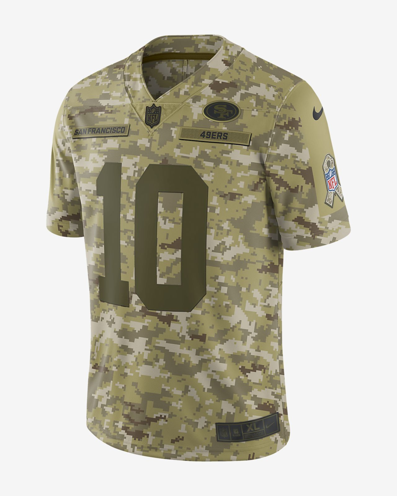 a6313bccd ... sweatshirt 3a2cf f8e20 norway nfl san francisco 49ers salute to service  limited jersey jimmy garoppolo mens football jersey b2fad