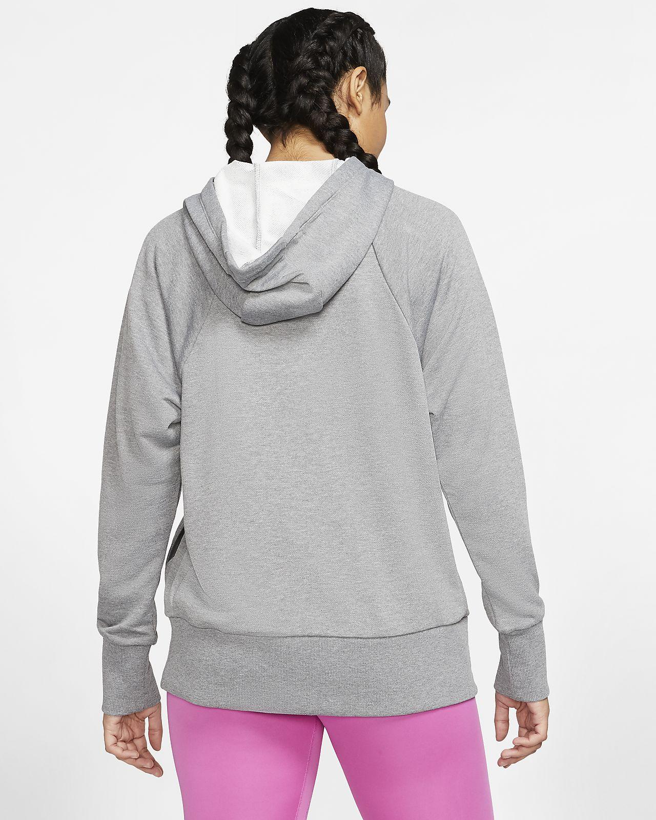 Dri FIT Get Fit treningshettejakke i fleece til dame