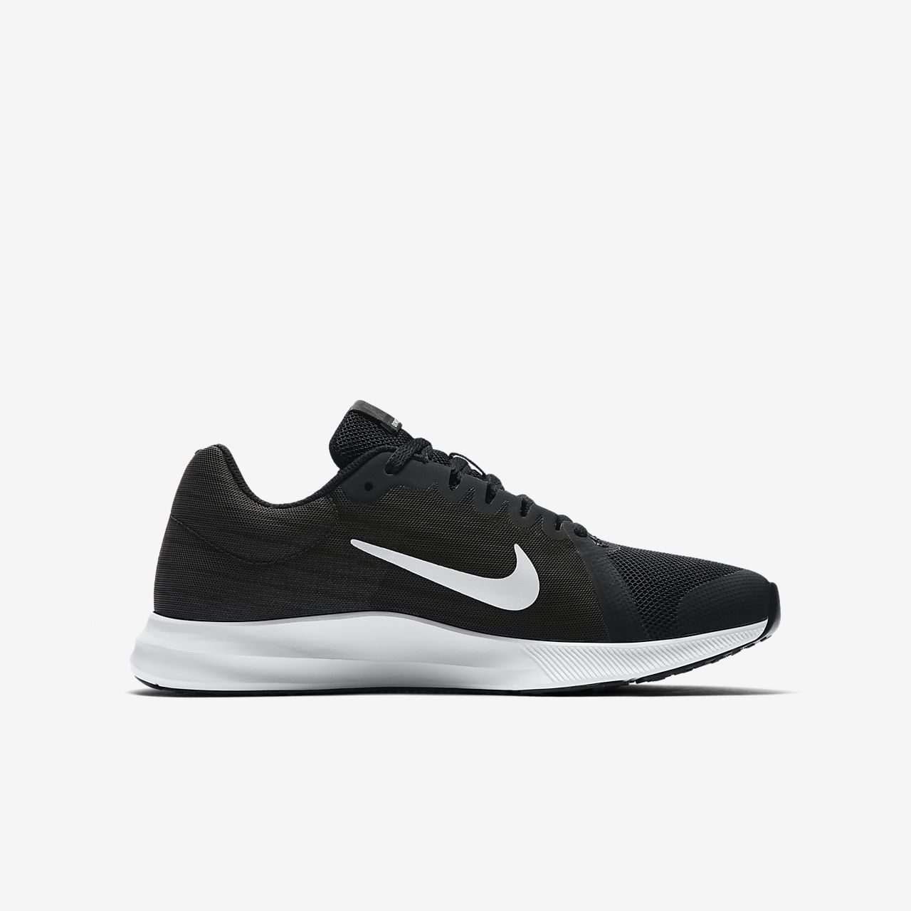 Chaussures Nike Downshifter noires Casual garçon Khwlwb3I