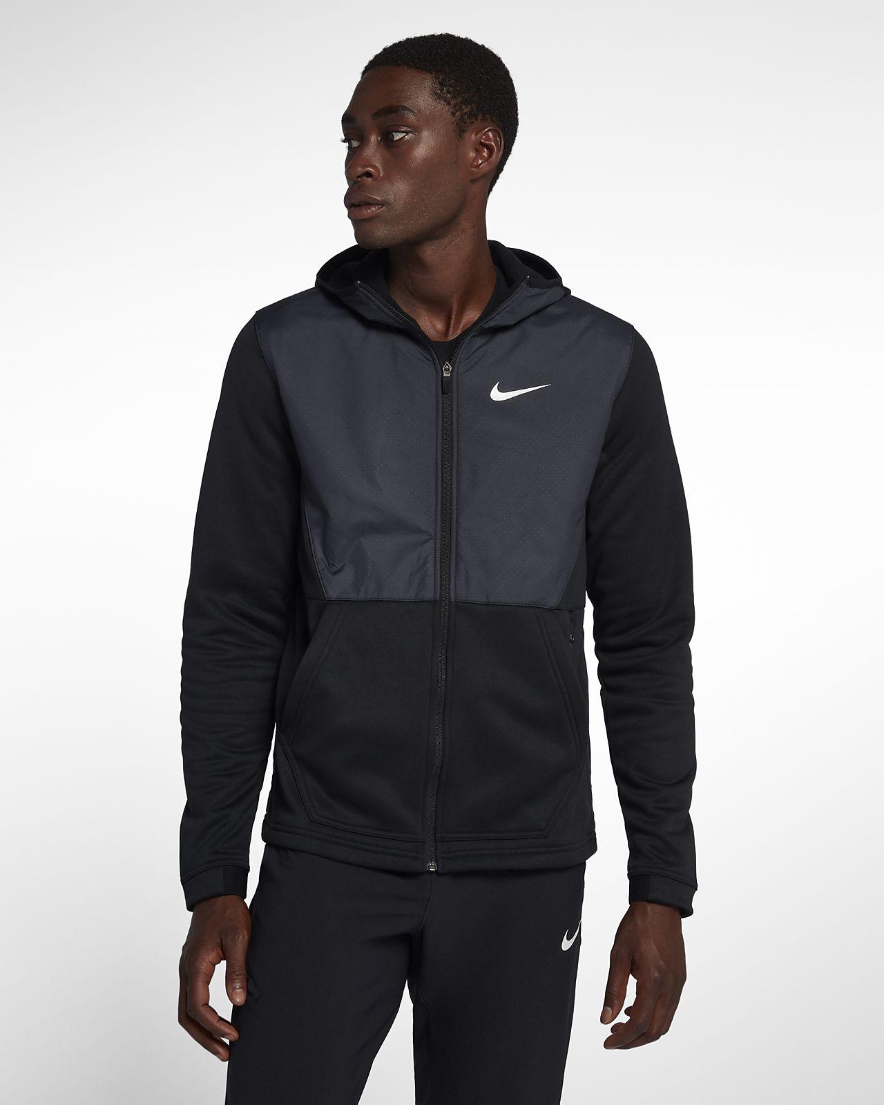 9e2bf4ba7cf Nike Therma Men's Full-Zip Basketball Hoodie. Nike.com