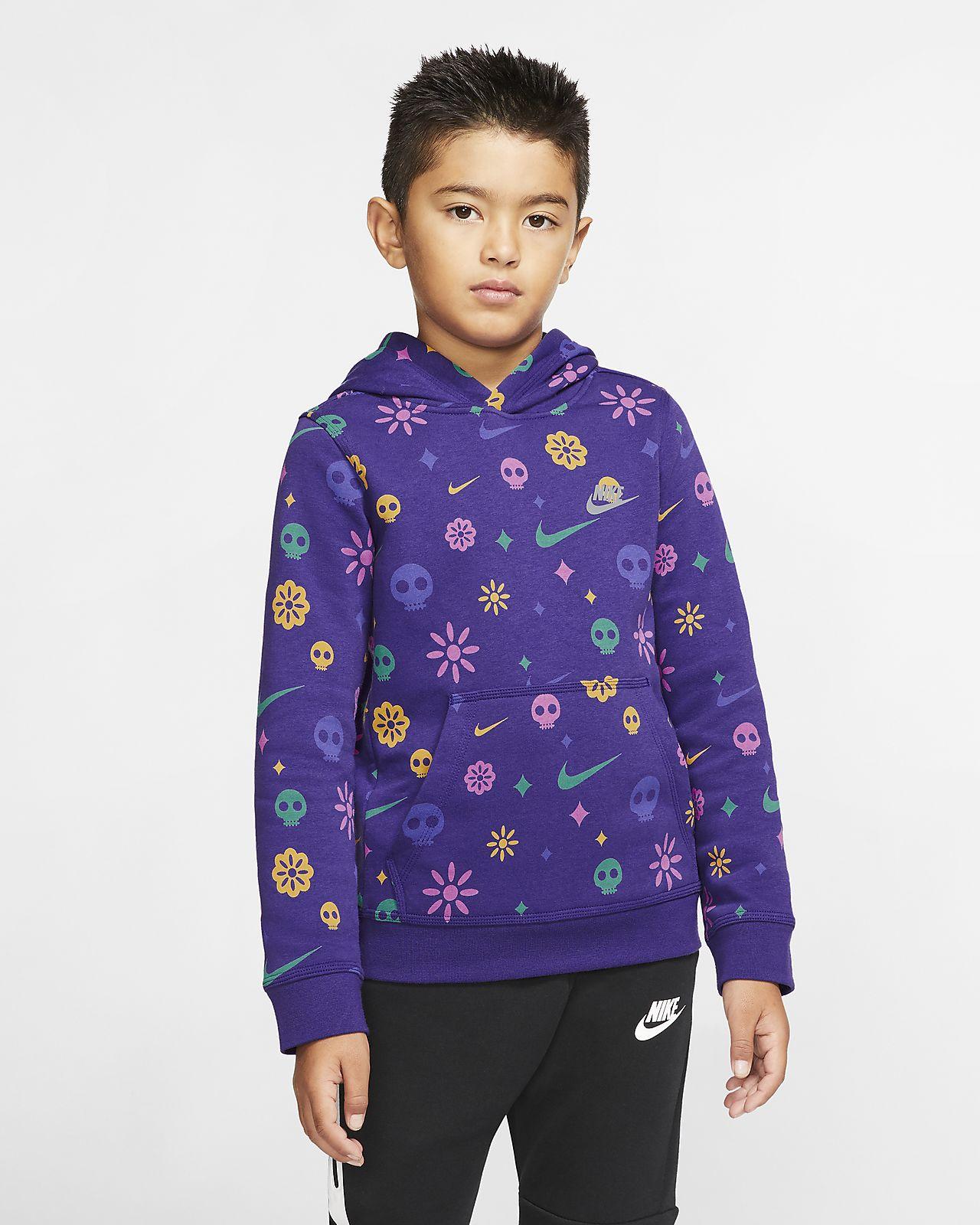 Nike Sportswear Boys' Club Pullover Hoodie