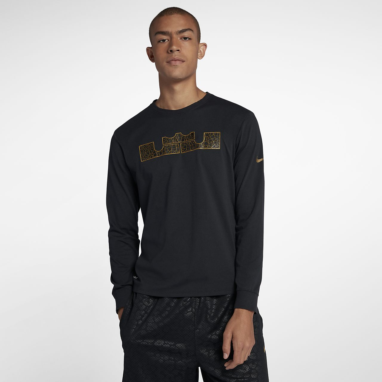 Nike Dri-FIT LeBron Men s Long-Sleeve T-Shirt. Nike.com 781c7215c3f