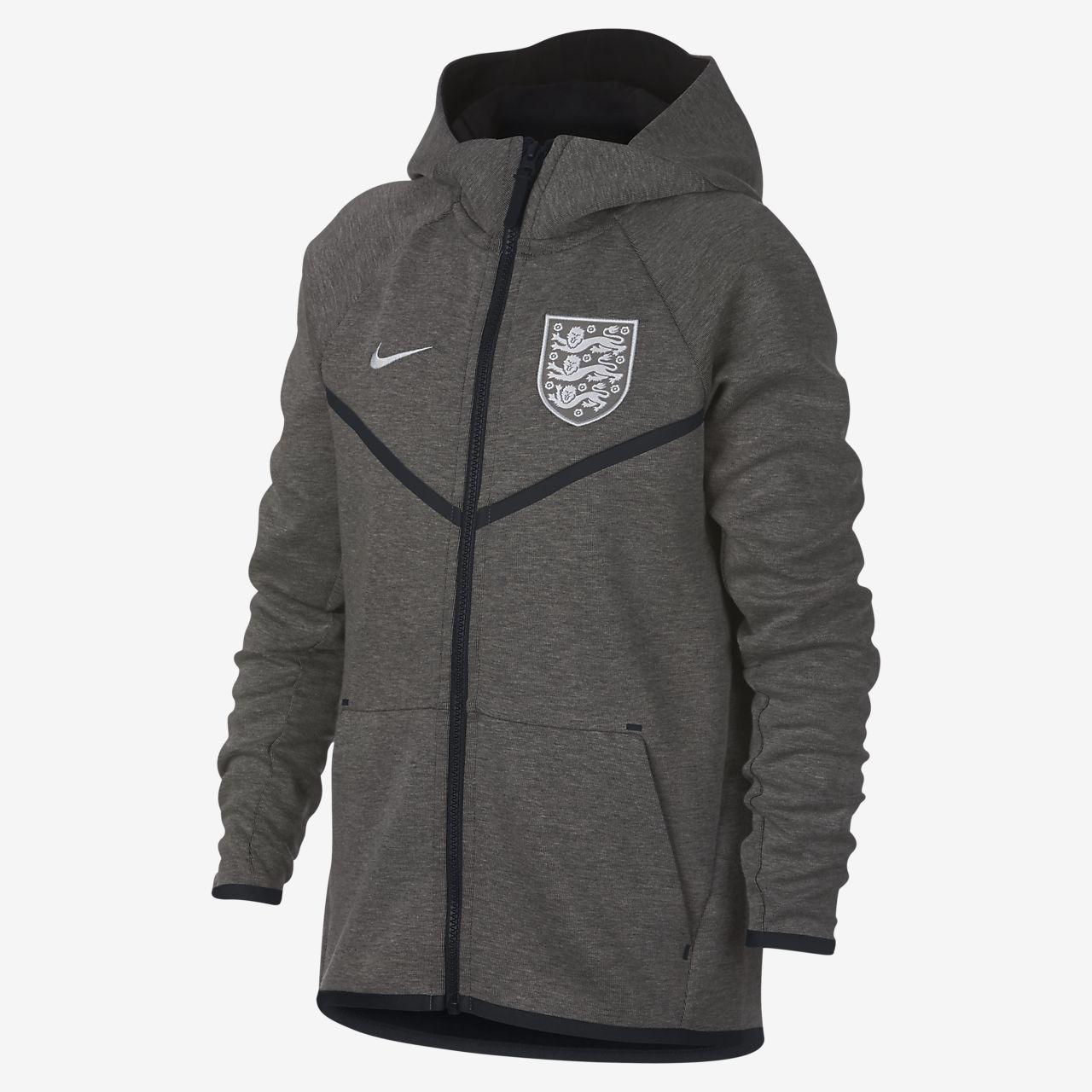 England Tech Fleece Windrunner-jakke til store børn