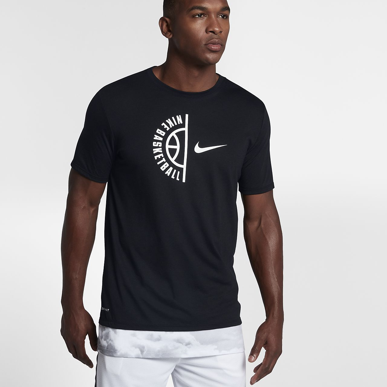Nike Dry Men's Basketball T-Shirts White