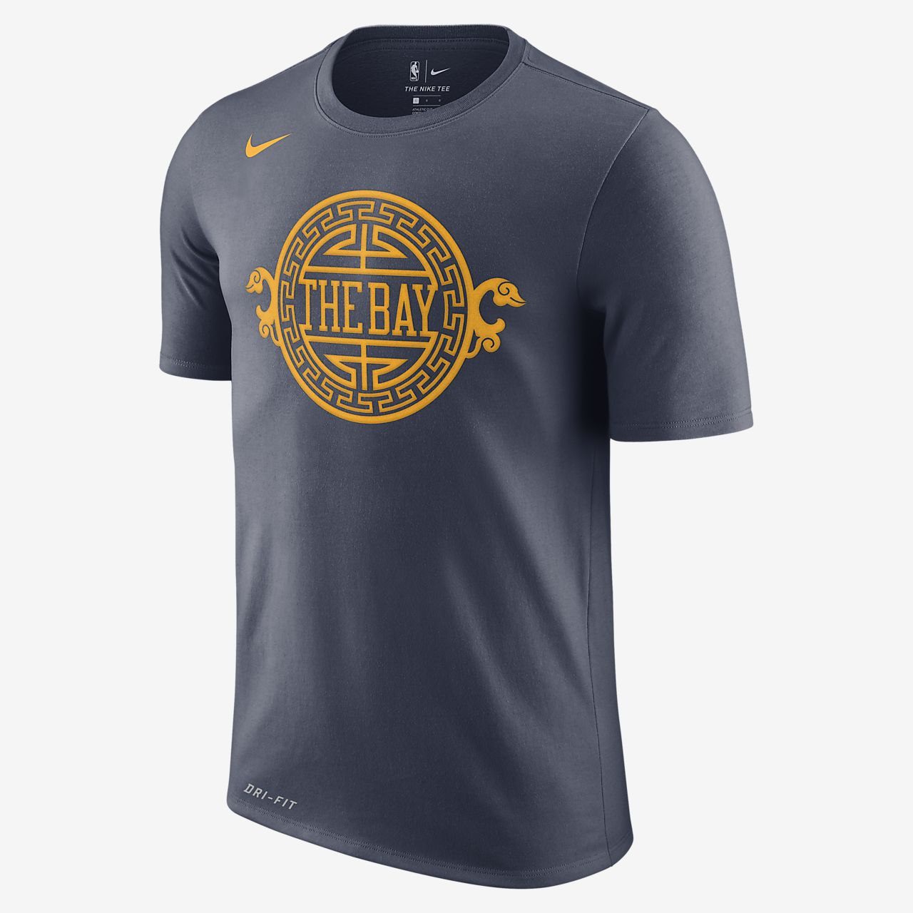 8754e2e8500b1 Golden State Warriors City Edition Nike Dri-FIT Men s NBA T-Shirt ...