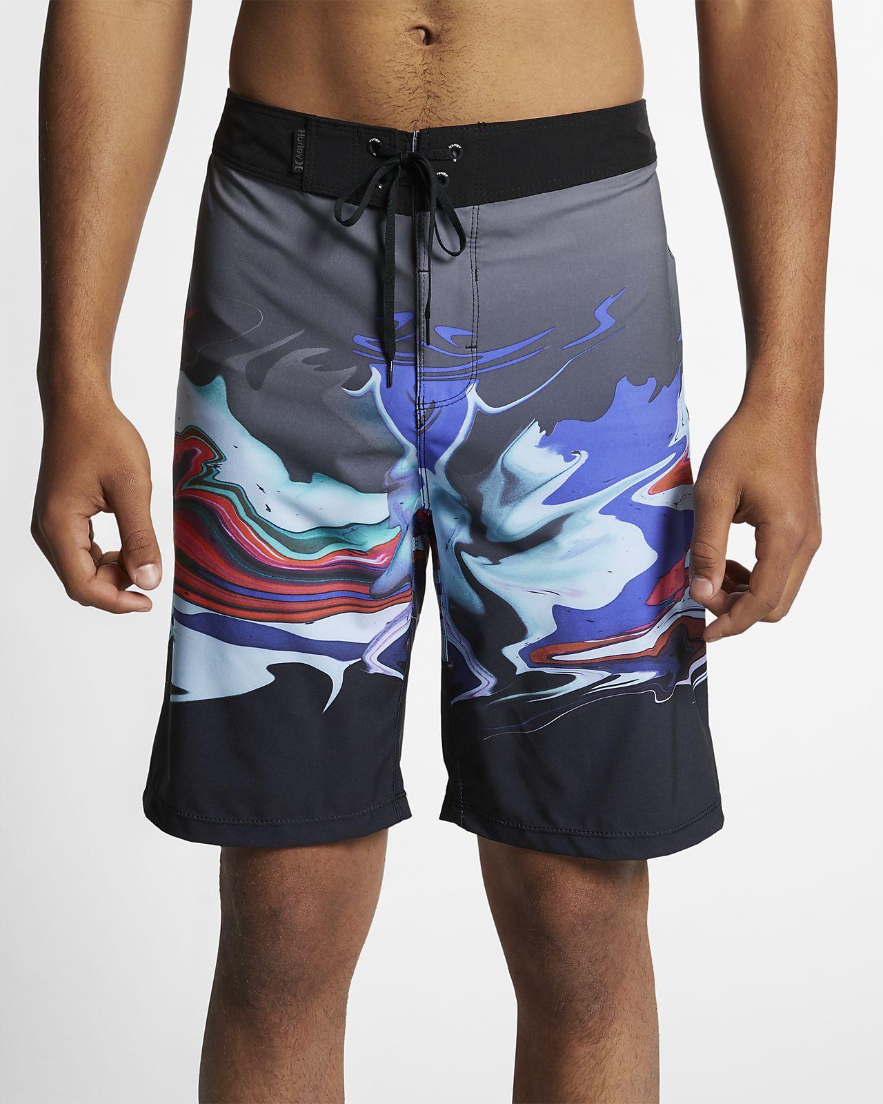 Shorts de playa de 51 cm para hombre Hurley Phantom Voodoo