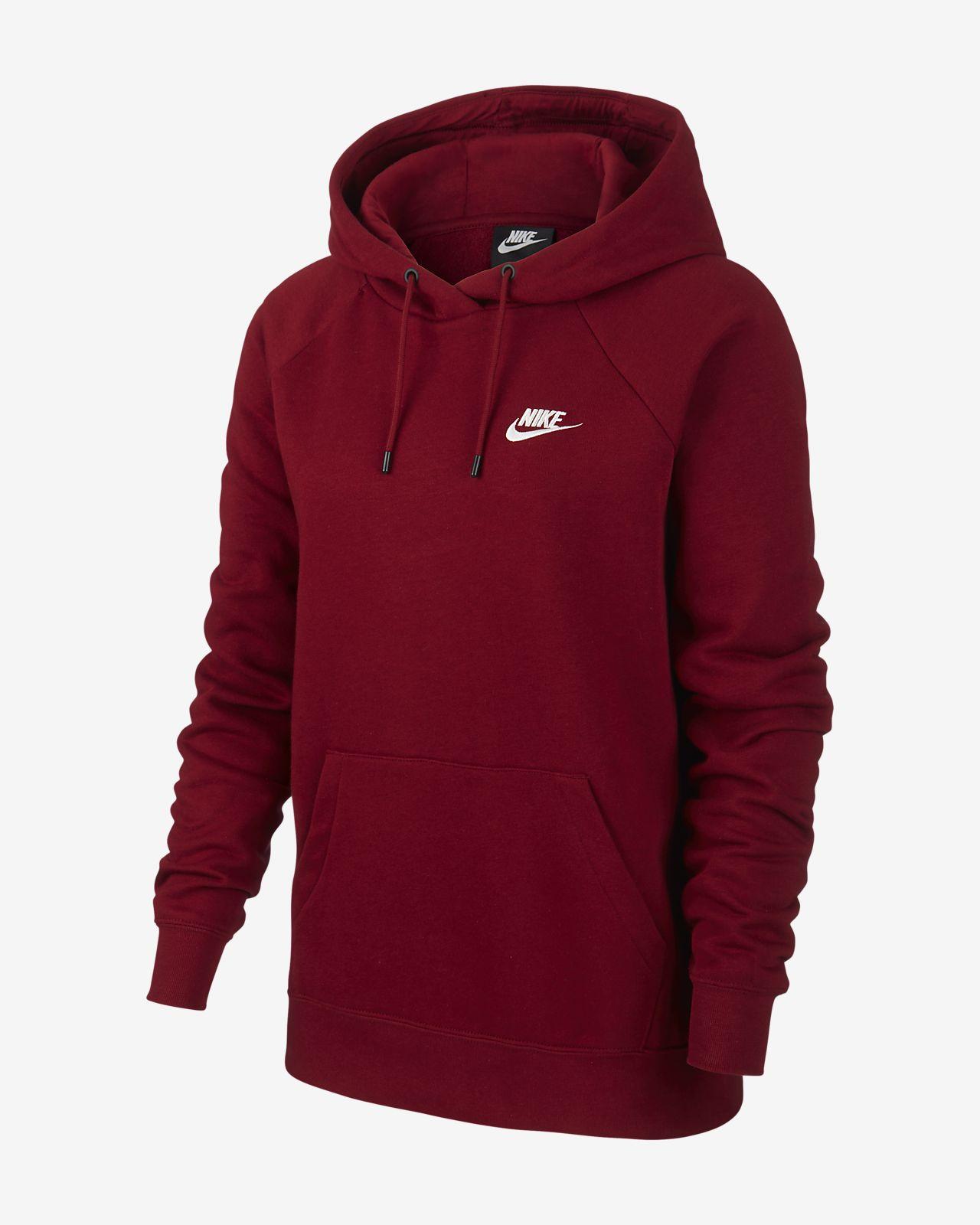 buty sportowe tak tanio lepszy Nike Sportswear Essential Women's Fleece Pullover Hoodie