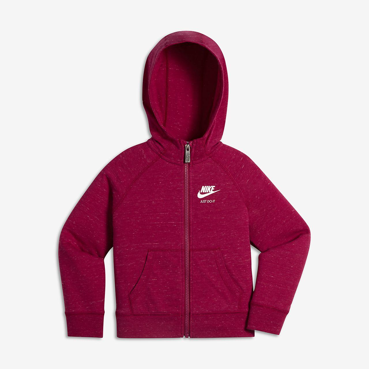 Sweat à capuche entièrement zippé Nike Sportswear Gym Vintage pour Jeune  enfant ac2ede40dd90