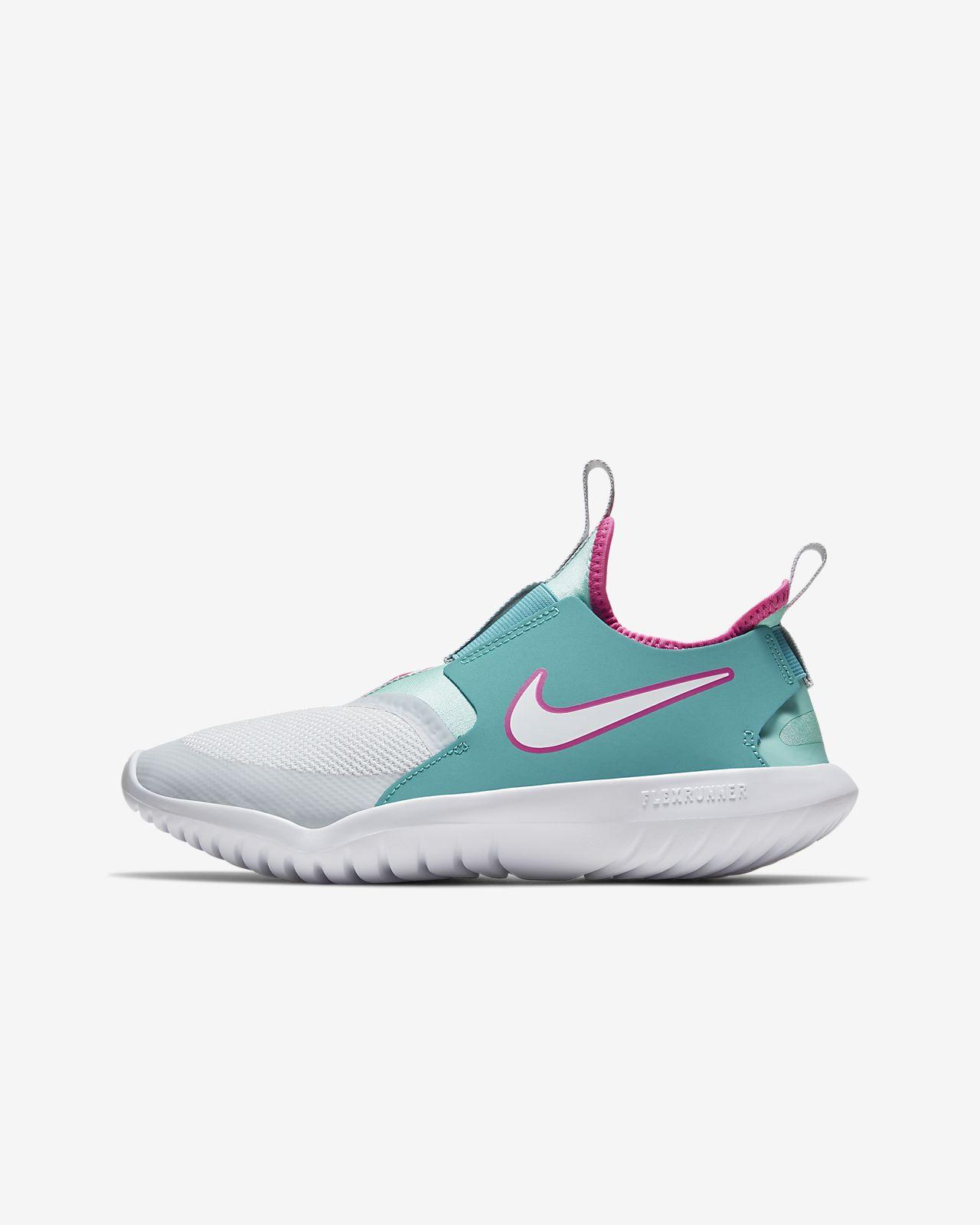 Nike Flex Runner Aqua Big Kids' Running Shoe