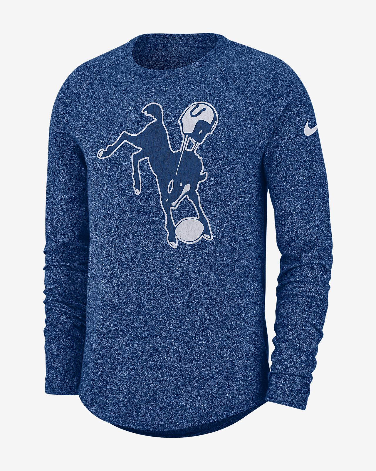 Nike Historic (NFL Colts) Men's Long-Sleeve T-Shirt