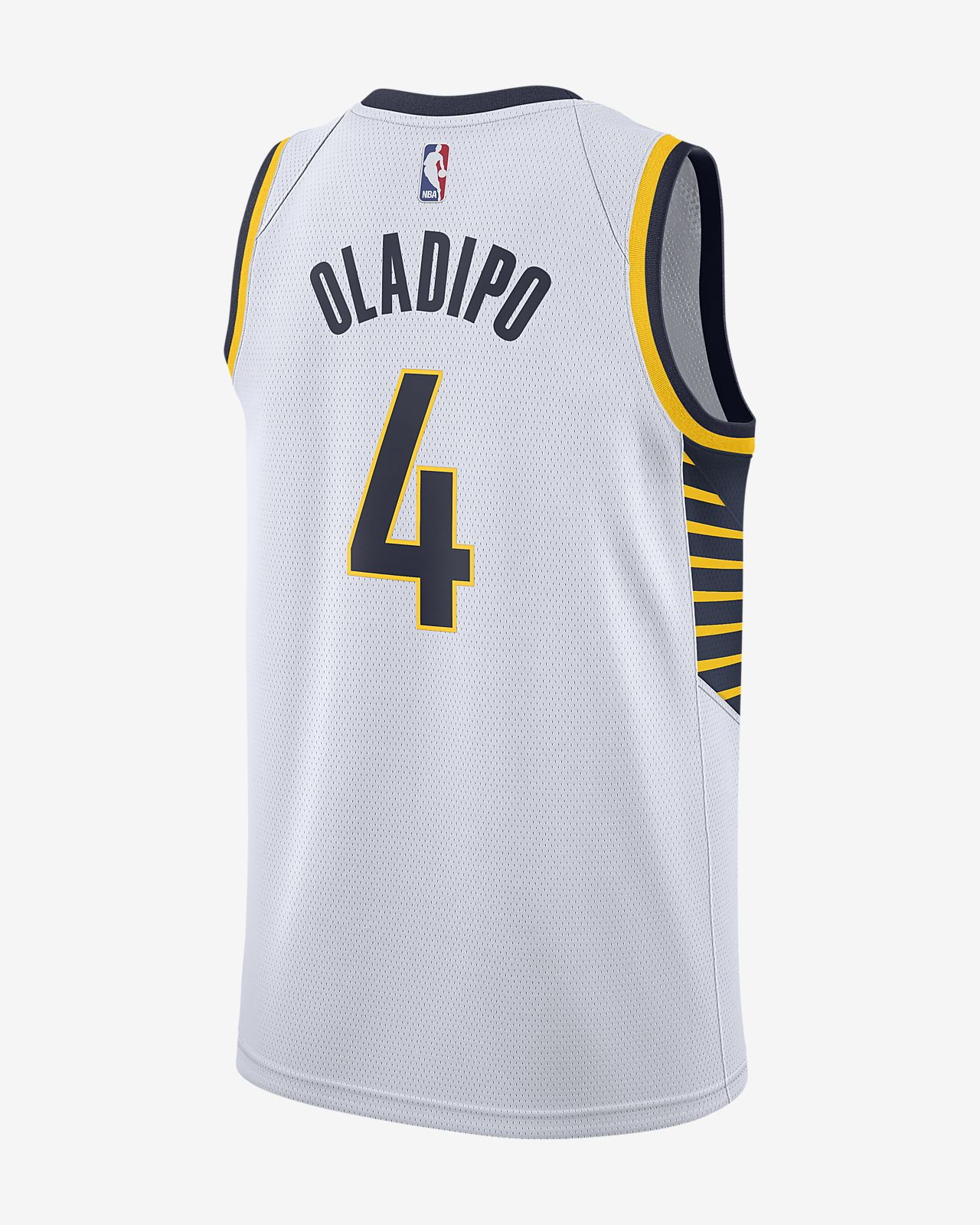 quality design 9e1a7 a054e Victor Oladipo Association Edition Swingman Jersey (Indiana Pacers) Men's  Nike NBA Connected Jersey