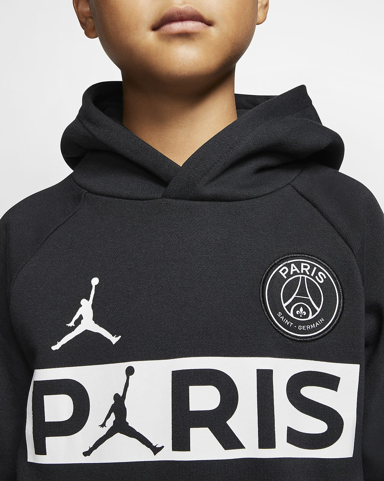 PSG Big Kids' (Boys') Fleece Pullover Hoodie