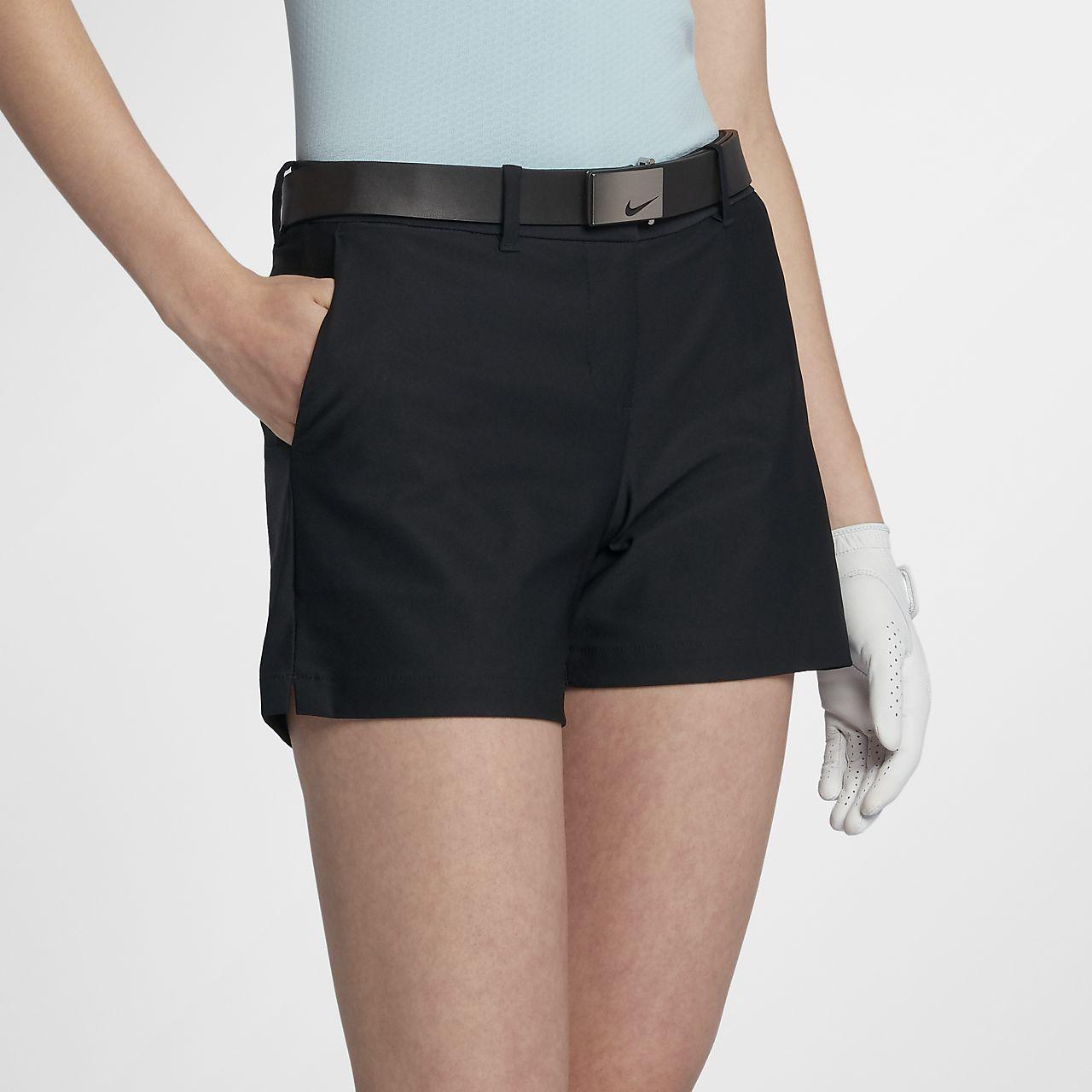 Shorts de golf tejidos de 11,5 cm para mujer Nike Flex