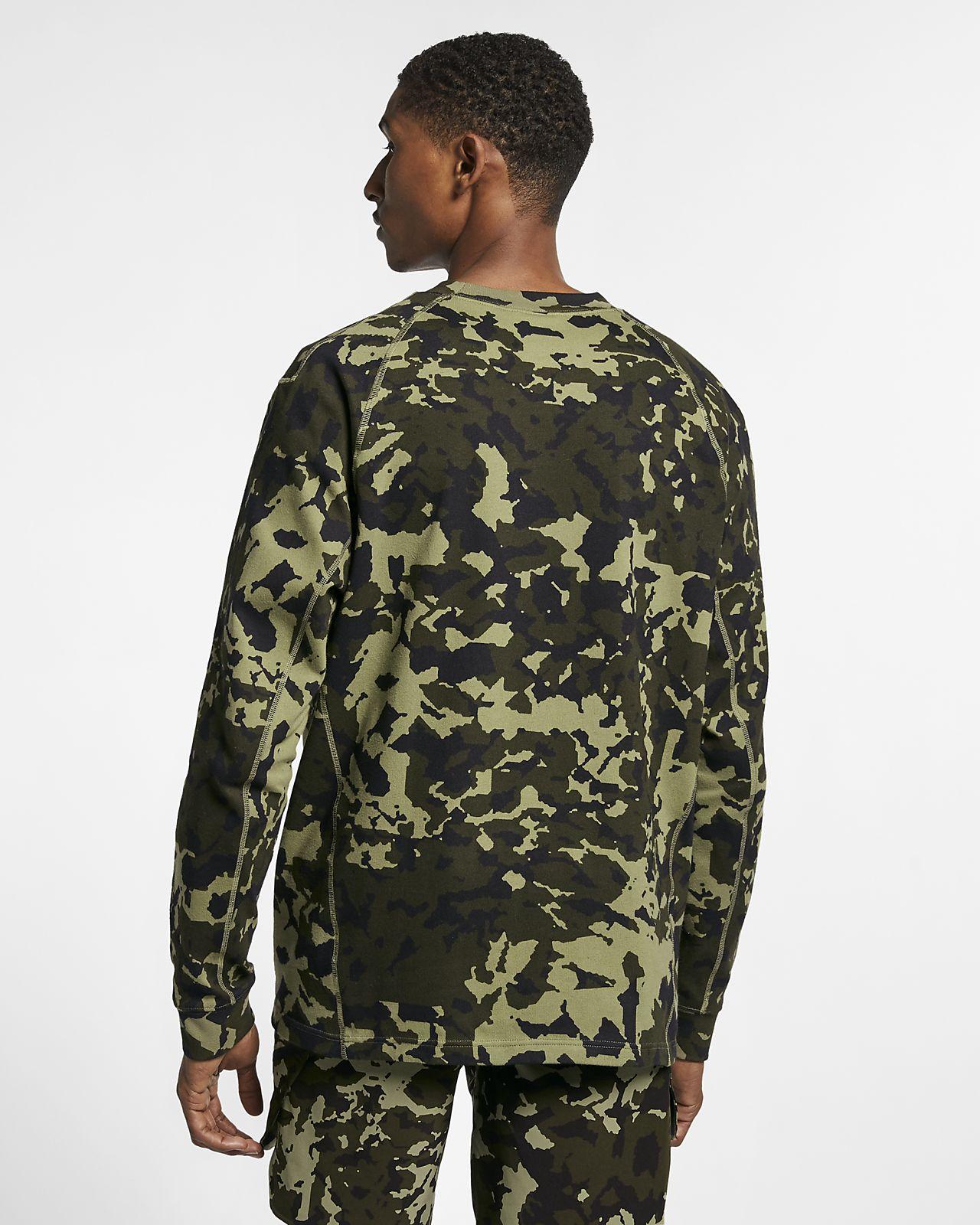 Nike x MMW Men's Printed Long Sleeve Top