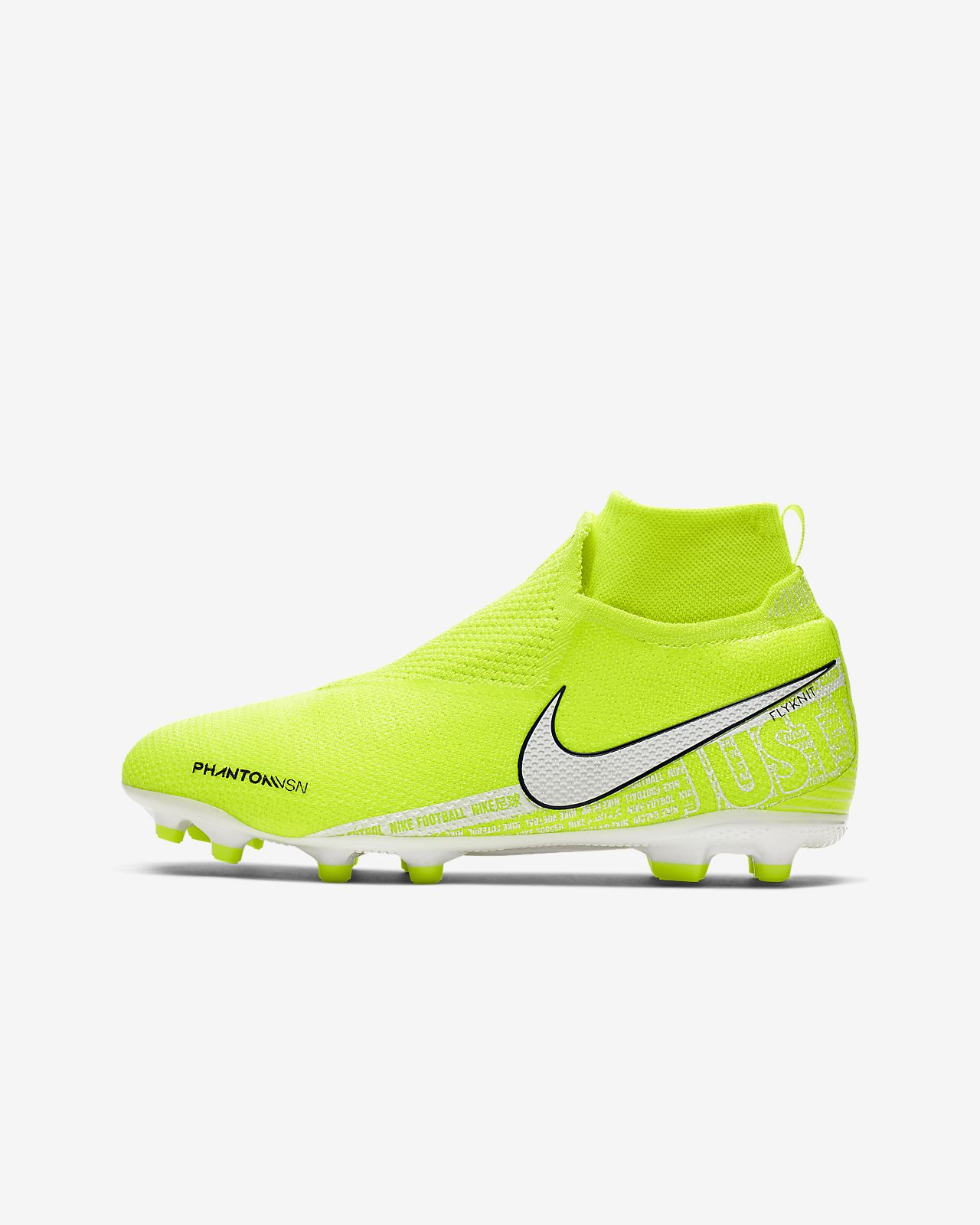 new products 9c741 b1e16 Nike Jr. Phantom Vision Elite Dynamic Fit MG Big Kids' Multi-Ground Soccer  Cleat