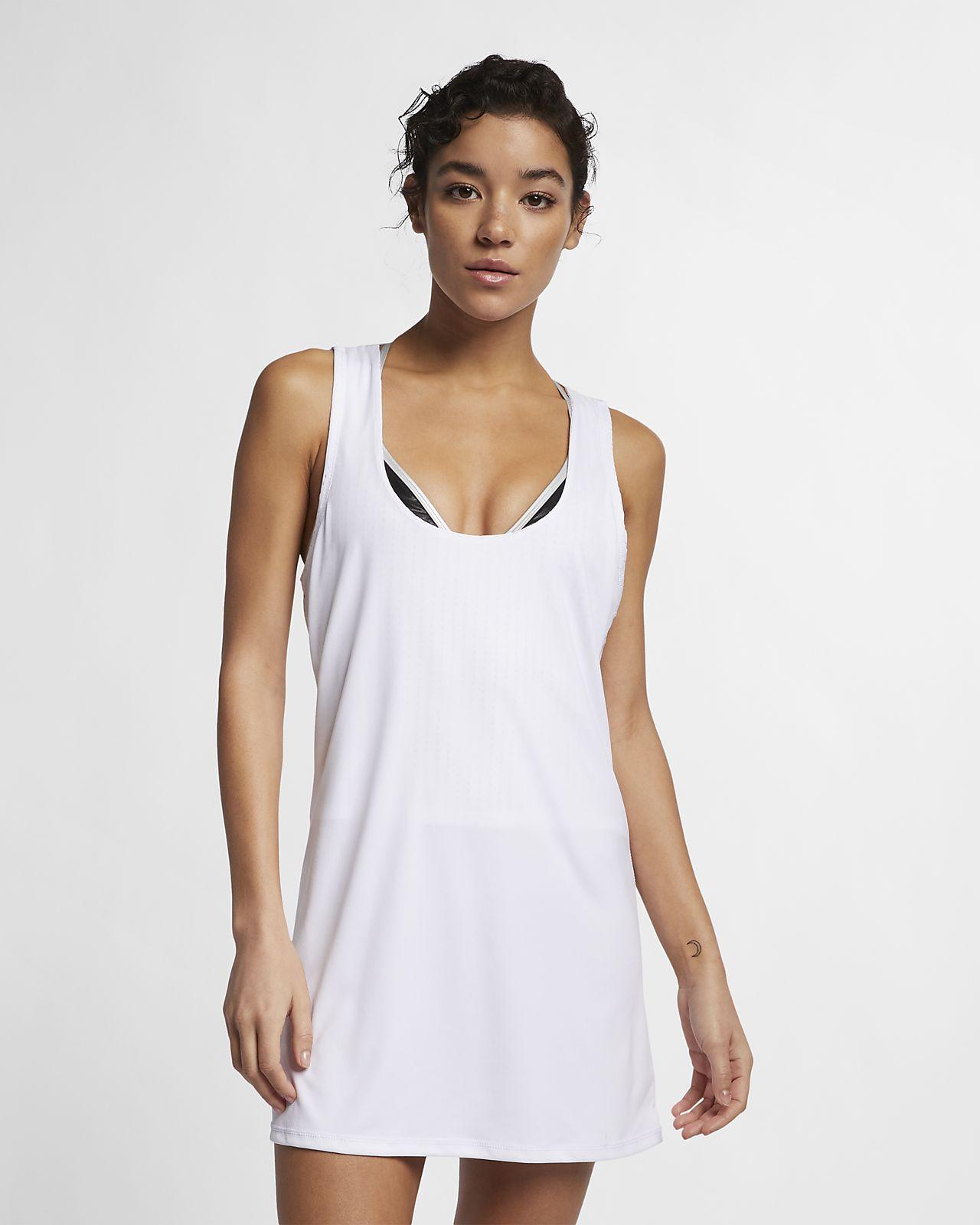 c4d993780fc91 Nike Sport Mesh Cover-Up Women's Reversible Layered Dress. Nike.com