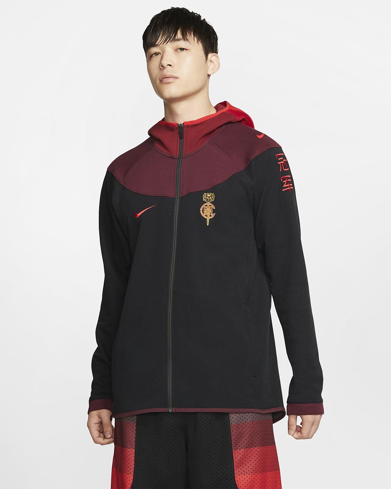 เสื้อมีฮู้ดผู้ชาย Nike x CLOT
