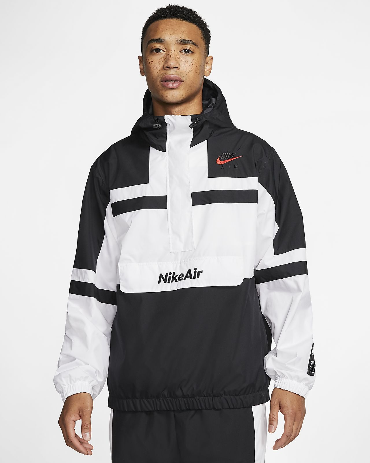 Nike Air Jacket in 2020 | Red nike sweater, Nike air jacket