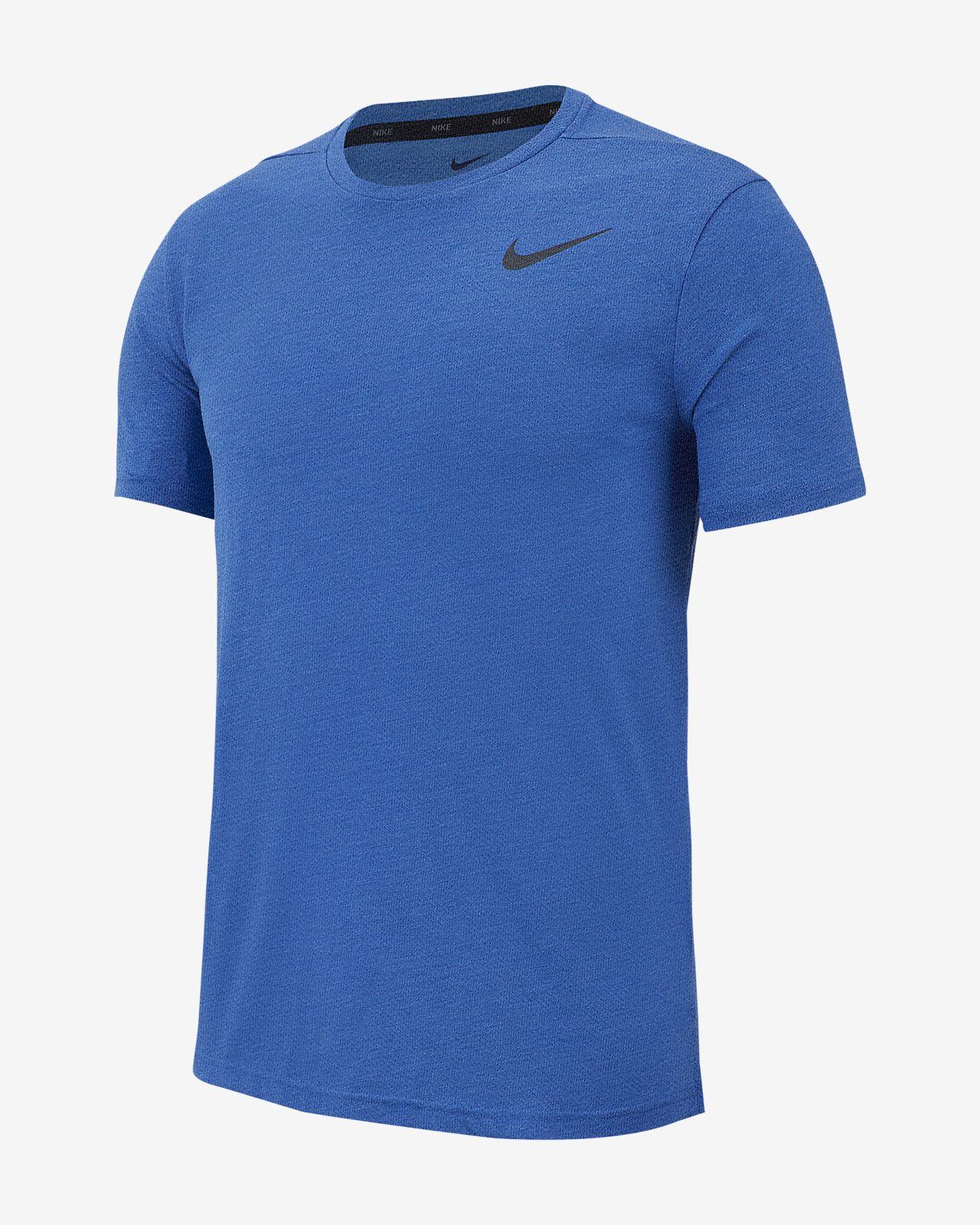 Nike Breathe Trainingstop met korte mouwen voor heren