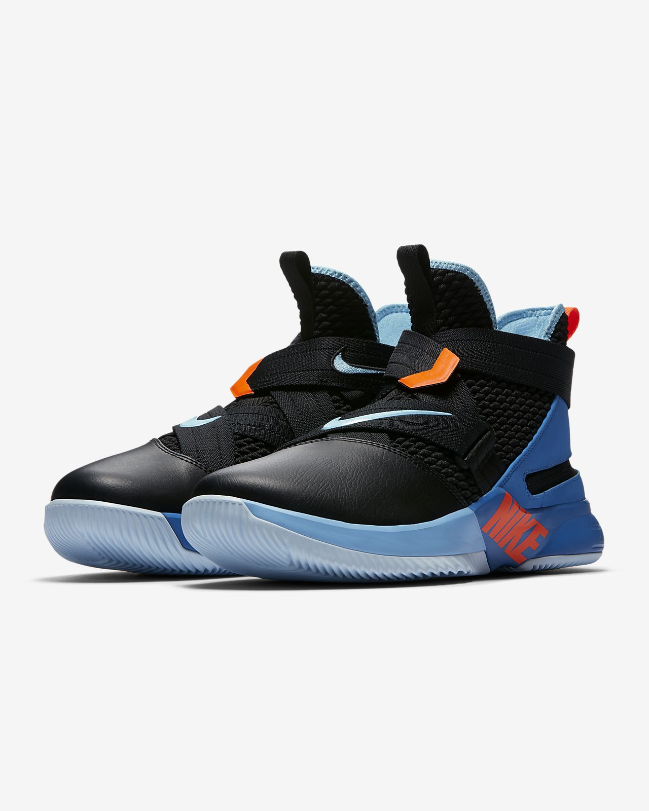 736872082b54 LeBron Soldier 12 FlyEase Men s Basketball Shoe. Nike.com