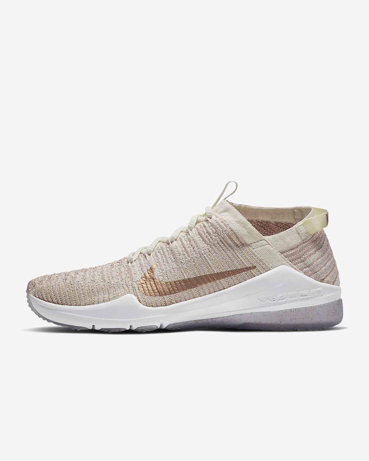 bce287a4b5e87 Nike Air Zoom Fearless Flyknit 2 Metallic Women s Training Shoe ...