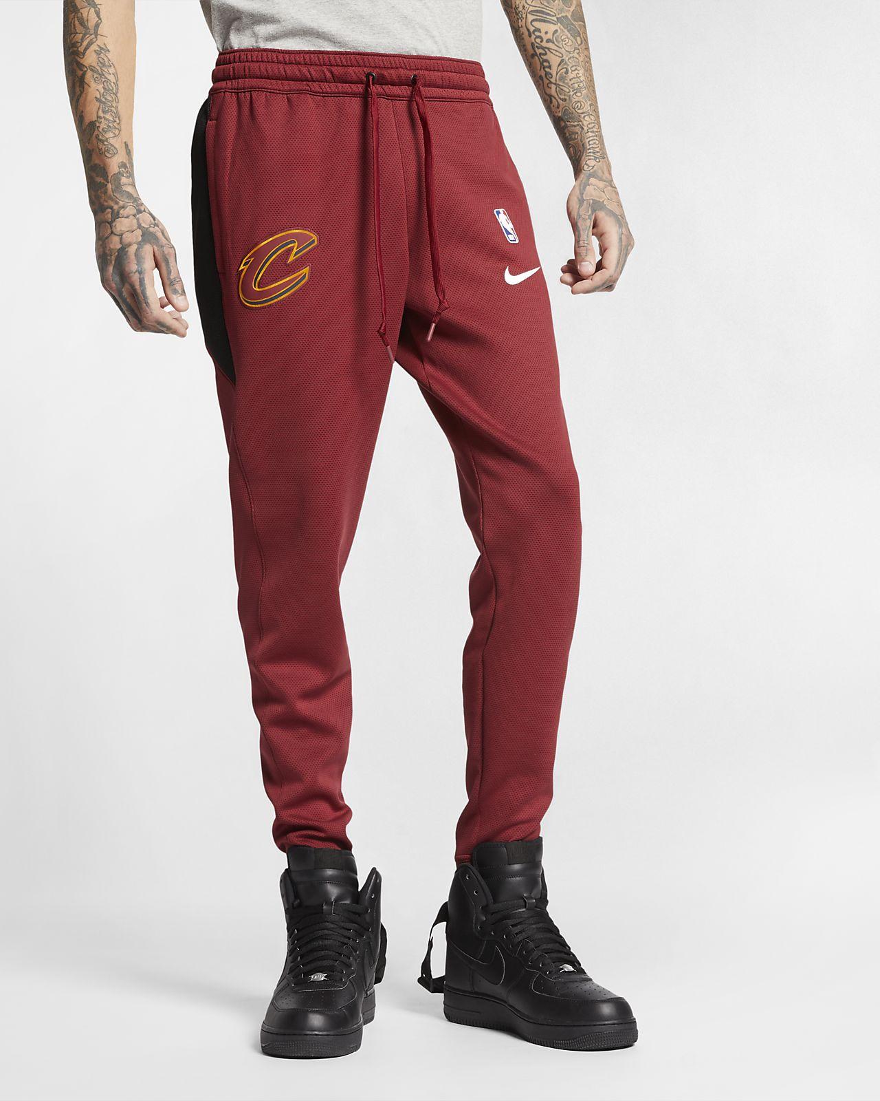 Pantalon NBA Cleveland Cavaliers Nike Therma Flex Showtime pour Homme