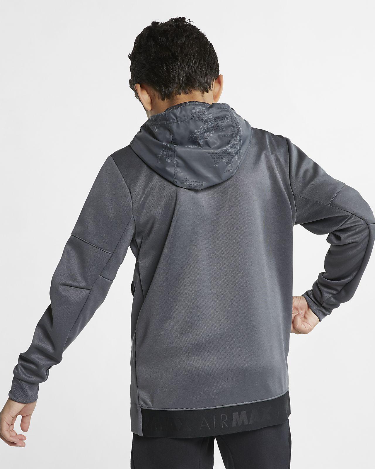 208b4db61d94f4 ... Nike Sportswear Hoodie mit Halbreißverschluss für ältere Kinder (Jungen)