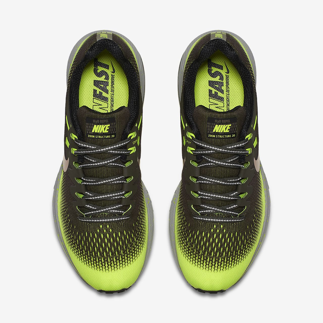 154bbf5b237f6 ... cheapest nike air zoom structure 20 shield mens running shoe 5e439 b4a9e