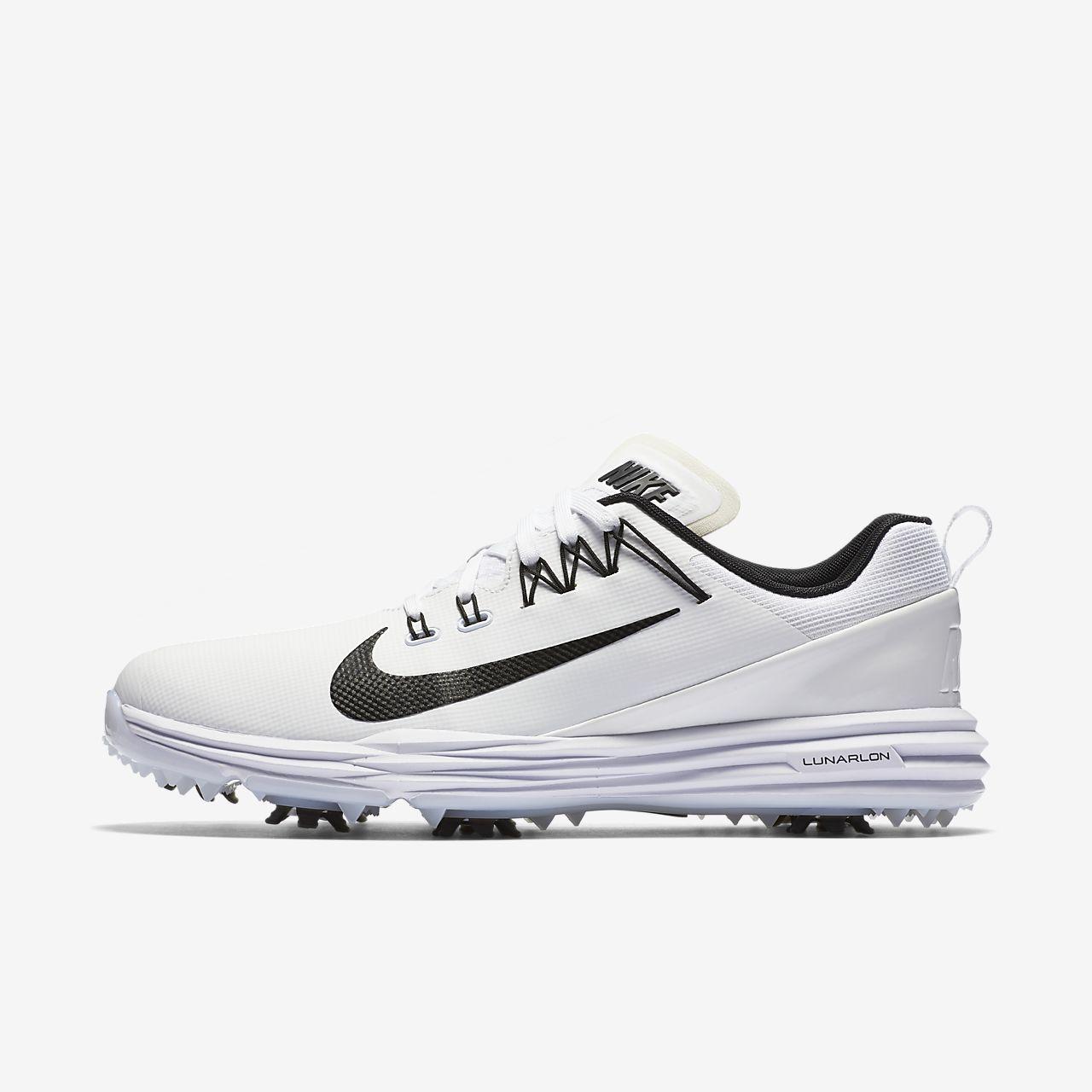 Nike Lunar Command 2 White White Black 880120100
