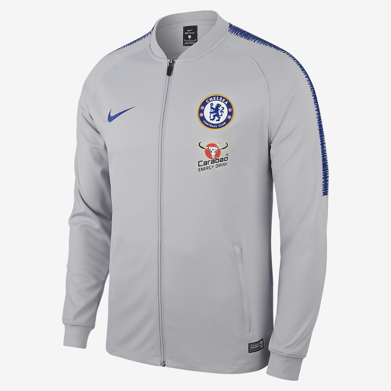 Pánské fotbalová bunda Chelsea FC Dri-FIT Squad. Nike.com CZ 128ec8df96