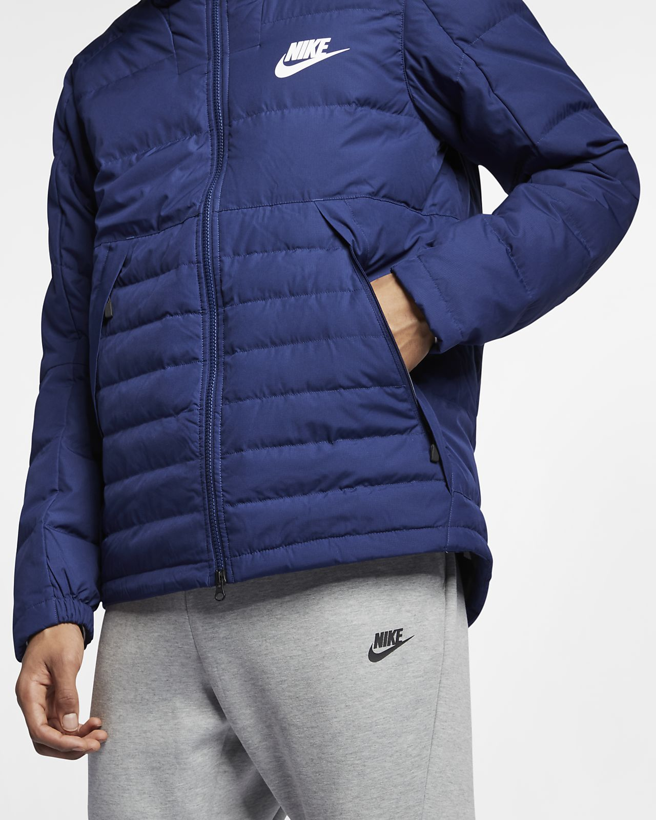 ce05ccf2efc3 Nike Sportswear Down-Fill Men s Hooded Jacket. Nike.com AE