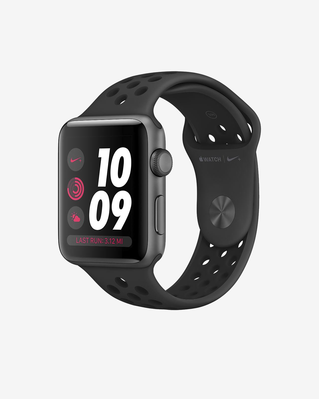 Apple Watch Nike Series 3 (GPS) 42mm Running Watch