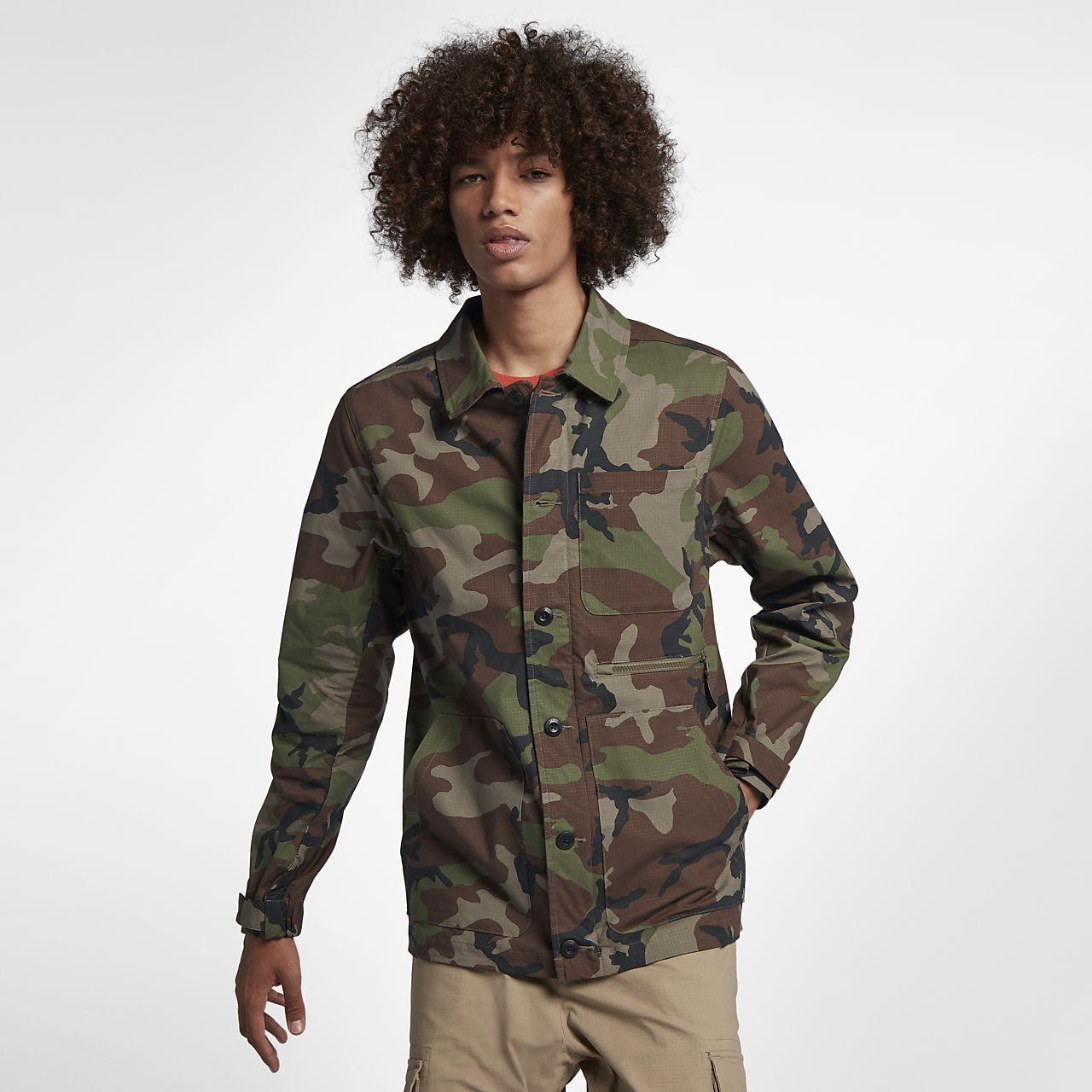 Veste nike camouflage femme