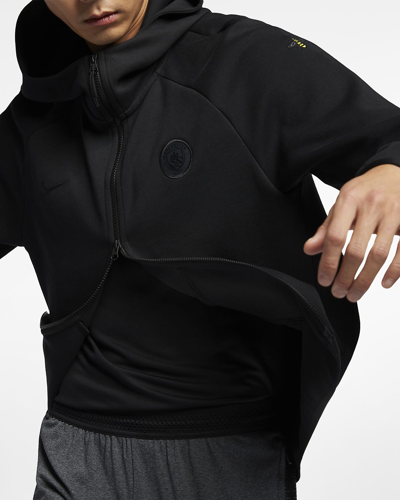 1a644a29a7b Manchester City FC Tech Fleece Hoodie met rits voor heren. Nike.com BE