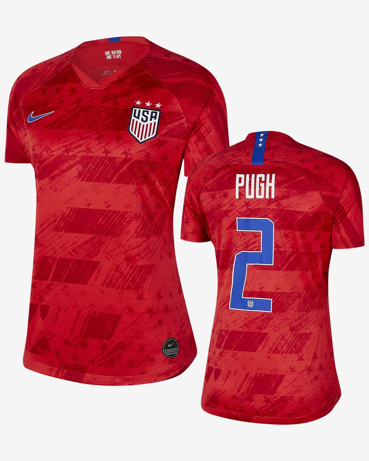new product e891c 808ff U.S. Stadium 2019 (Mallory Pugh) Women's Away Jersey