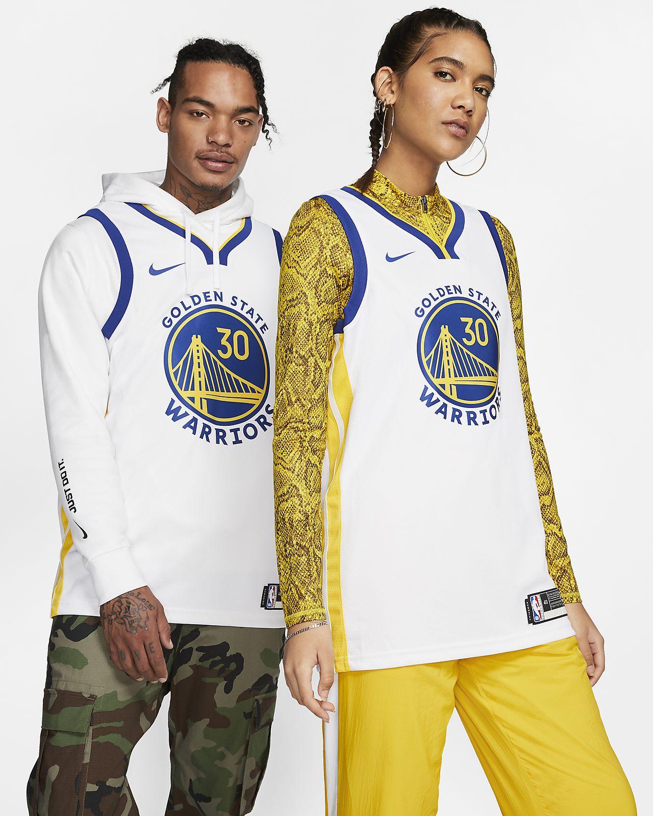 Camiseta Nike NBA Swingman Stephen Curry Warriors Association Edition