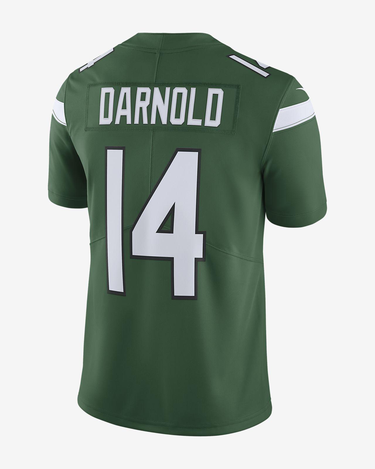 buy popular 170a4 3c24c NFL New York Jets (Sam Darnold) Men's Limited Football Jersey
