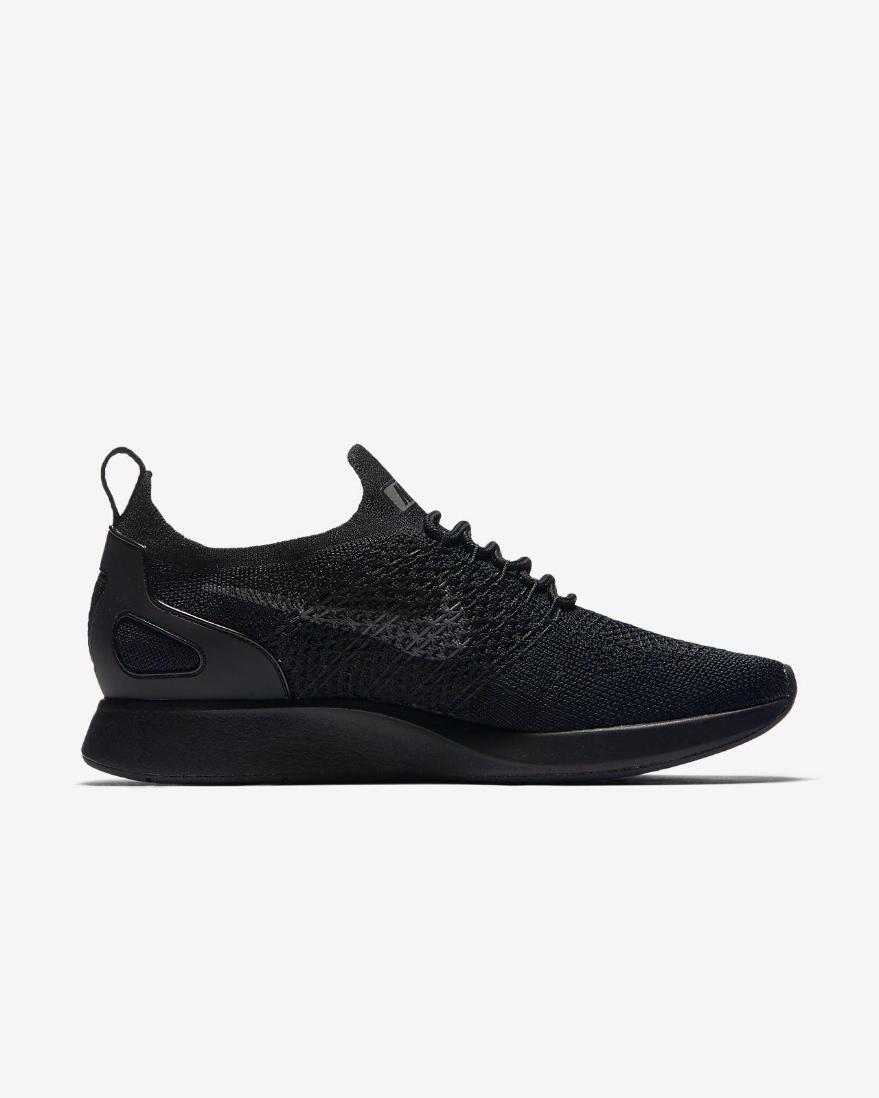 Nike Air Zoom Mariah Chaussures Baskets De Course Lo Flyknit Gris Noir Noir Gris rivoeAWX6
