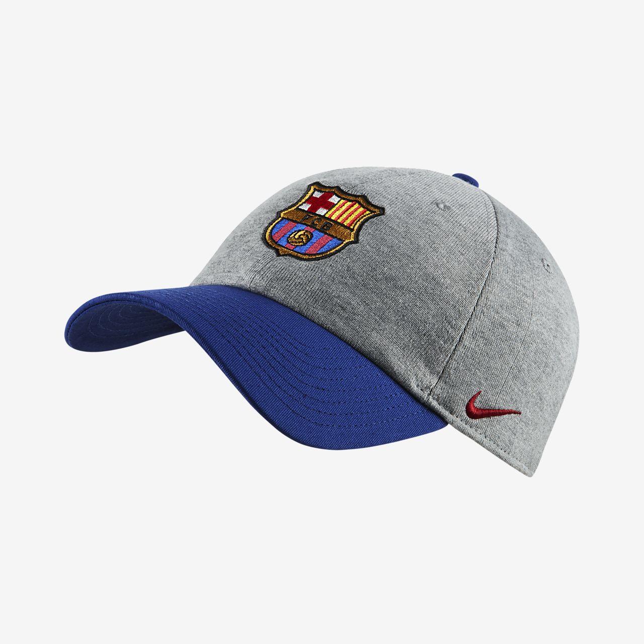 9e62559610a40 FC Barcelona H86 Adjustable Hat. Nike.com SK