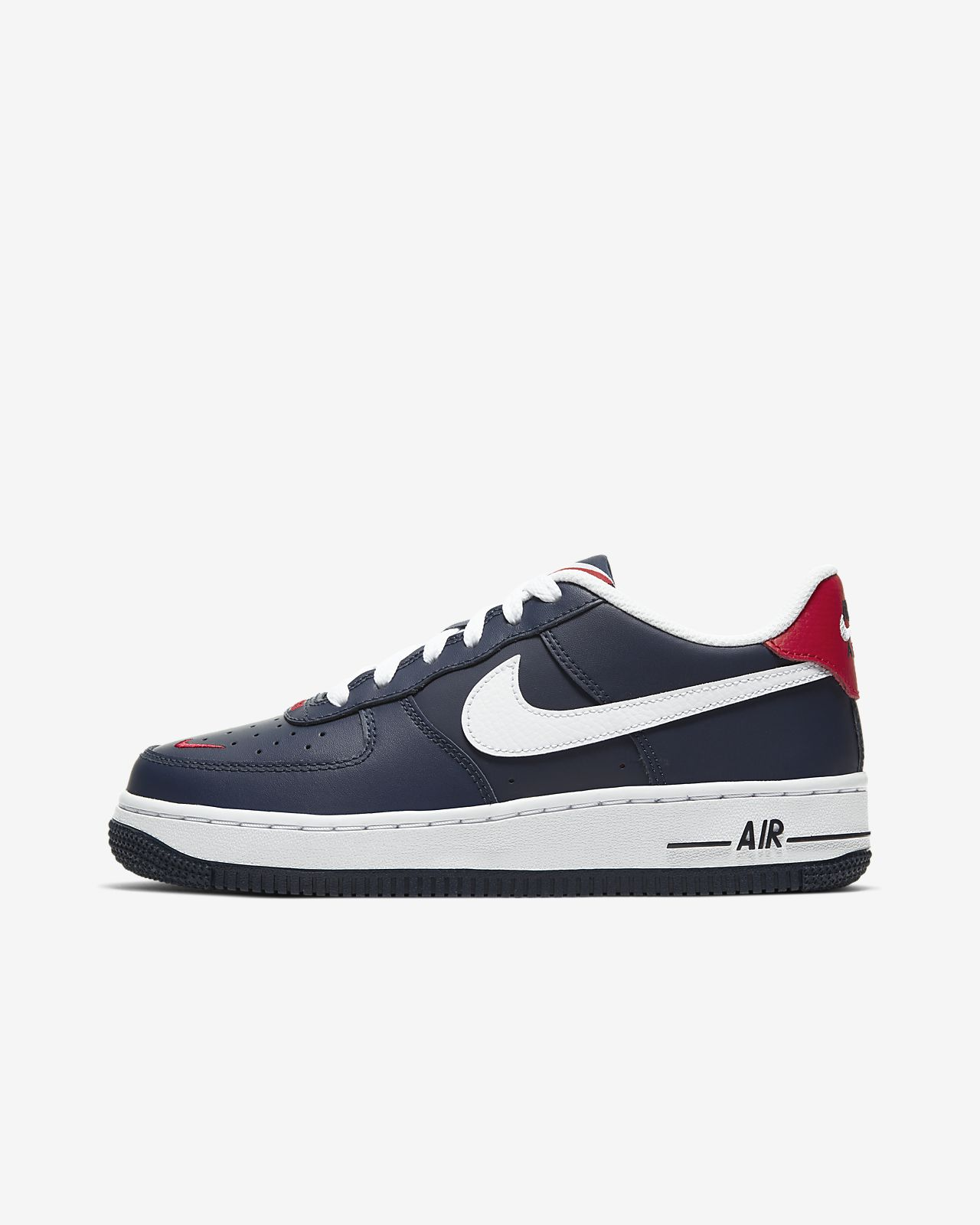 Chaussures Nike Air Force 1 '07 ObsidienneRouge