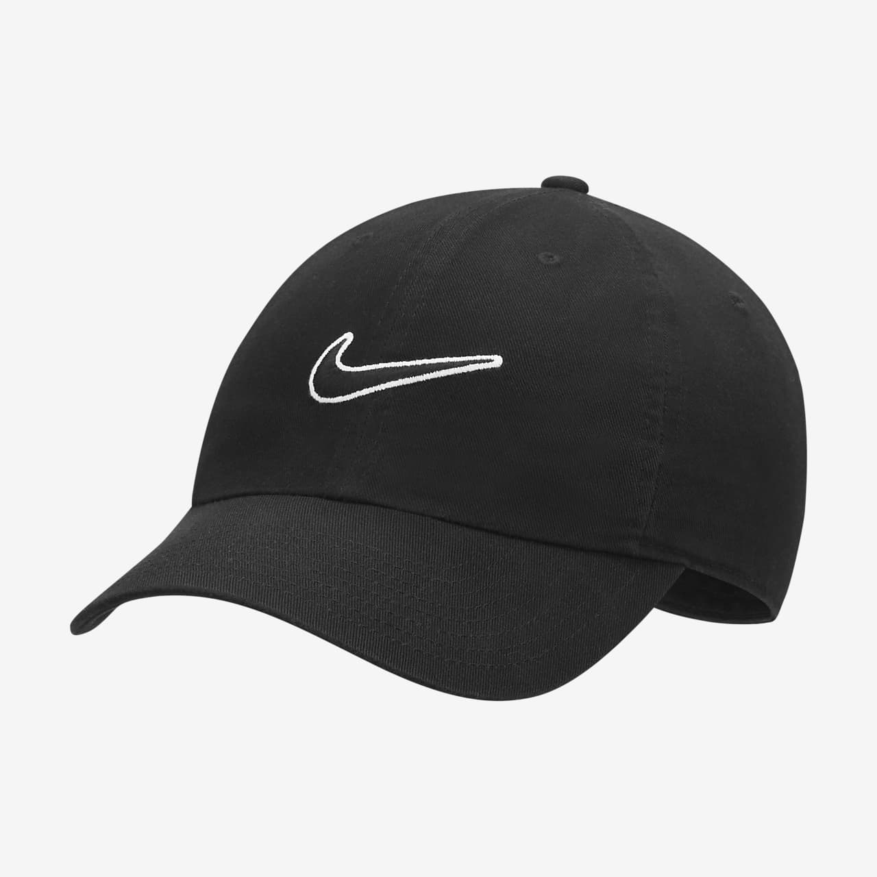 edd12a7f4893e Nike Heritage 86 Essential Swoosh Adjustable Hat. Nike.com GB